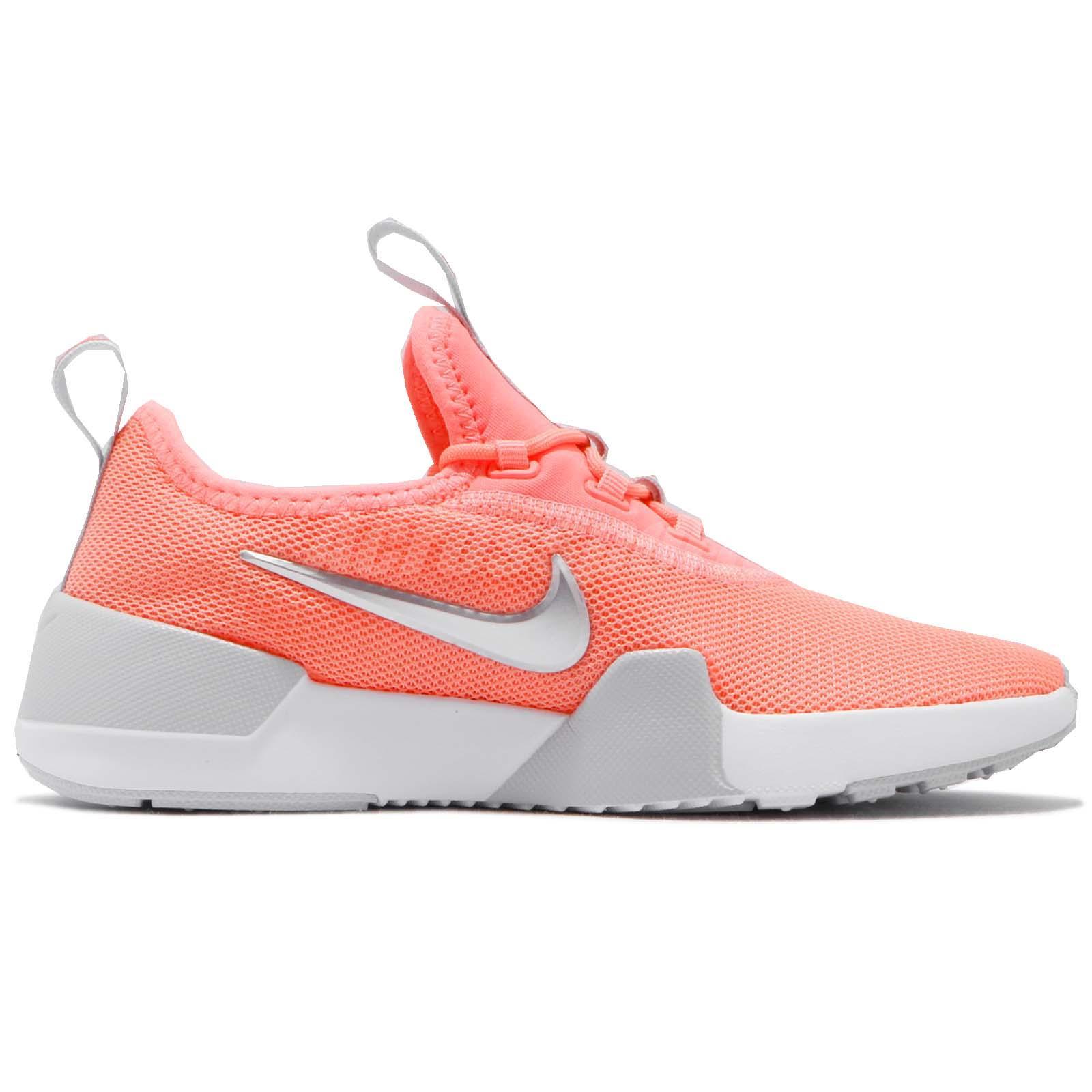 d7dbc8b09677a Nike Ashin Modern PS Pink Silver Preschool Kids Girls Running Shoes ...