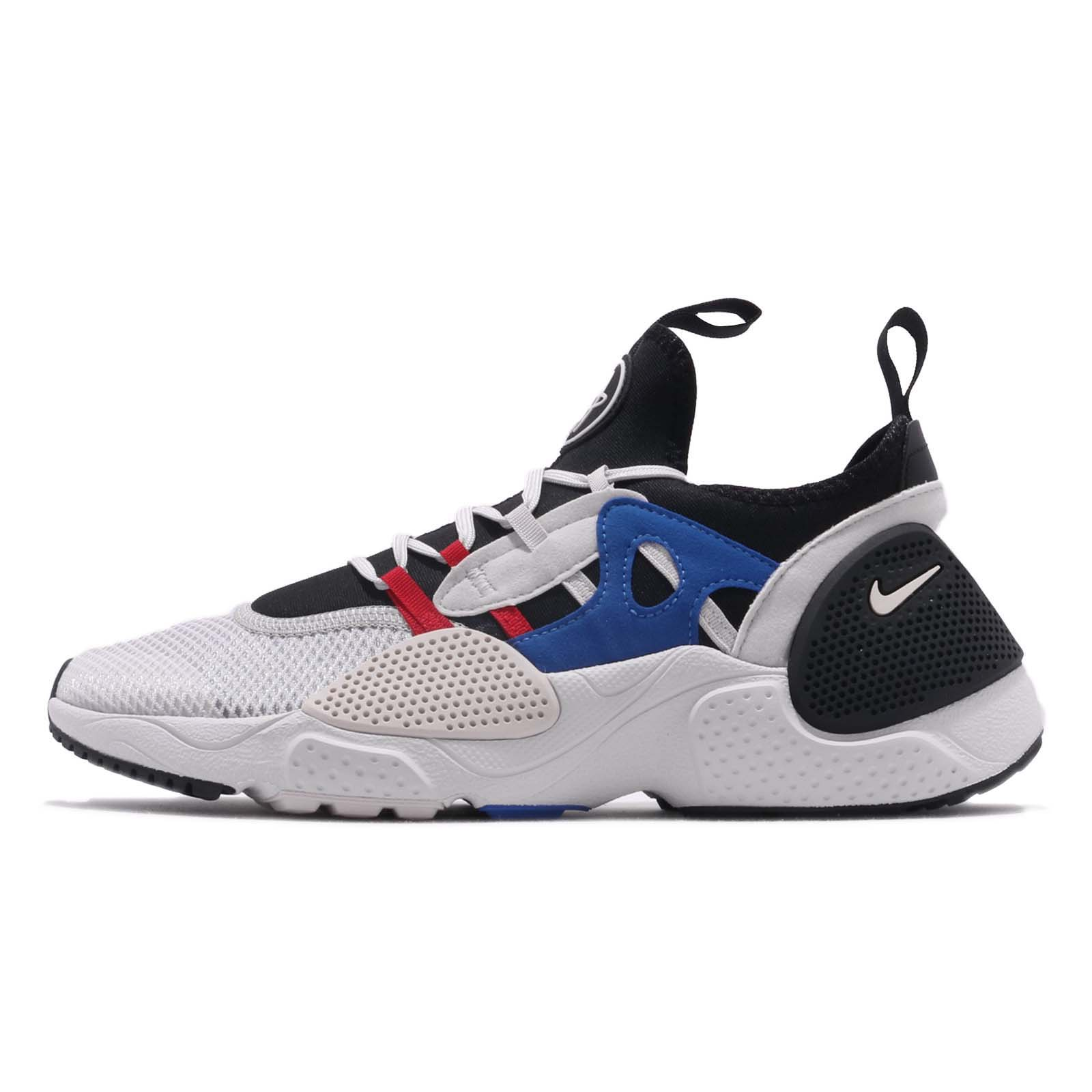 the best attitude 22af6 bff56 Details about Nike Huarache E.D.G.E. Txt Black Grey Game Royal Red Men Shoe  Sneaker AO1697-001