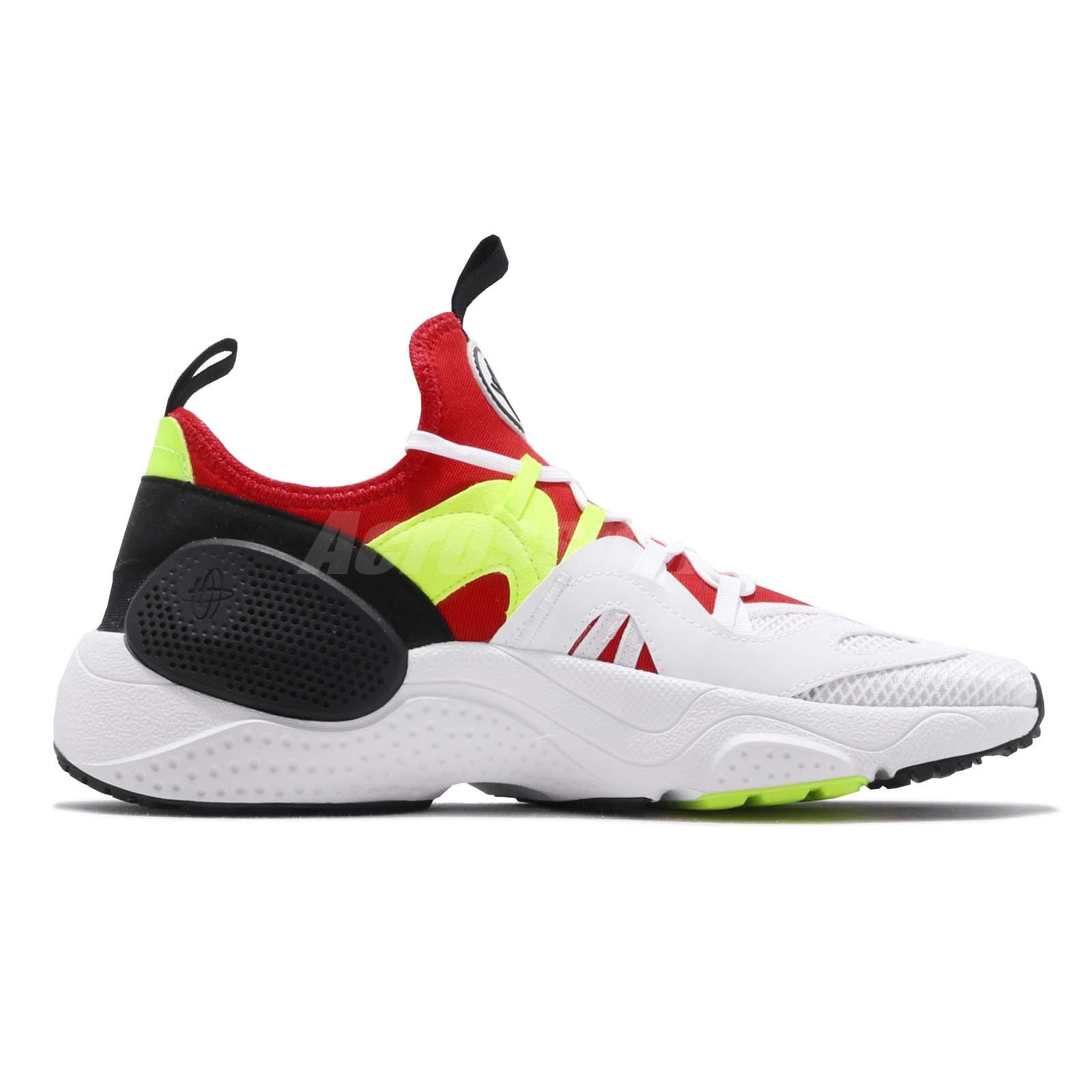 a7c2593d8113 Nike Huarache E.D.G.E. Txt White Red Volt Black Men Shoes Sneakers ...