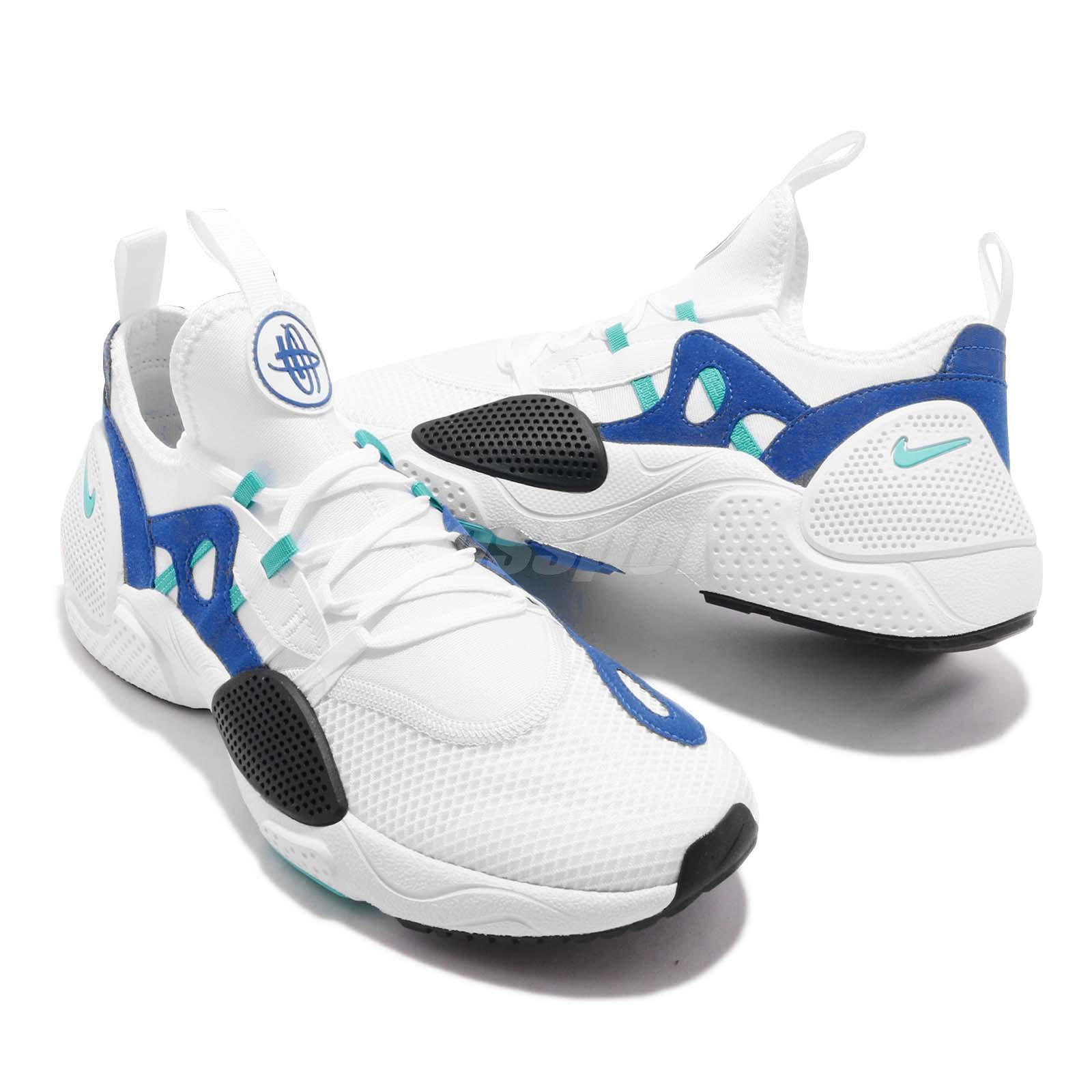 bf464507d4c2 Nike Huarache E.D.G.E. TXT White Blue Black Men Running Shoes ...