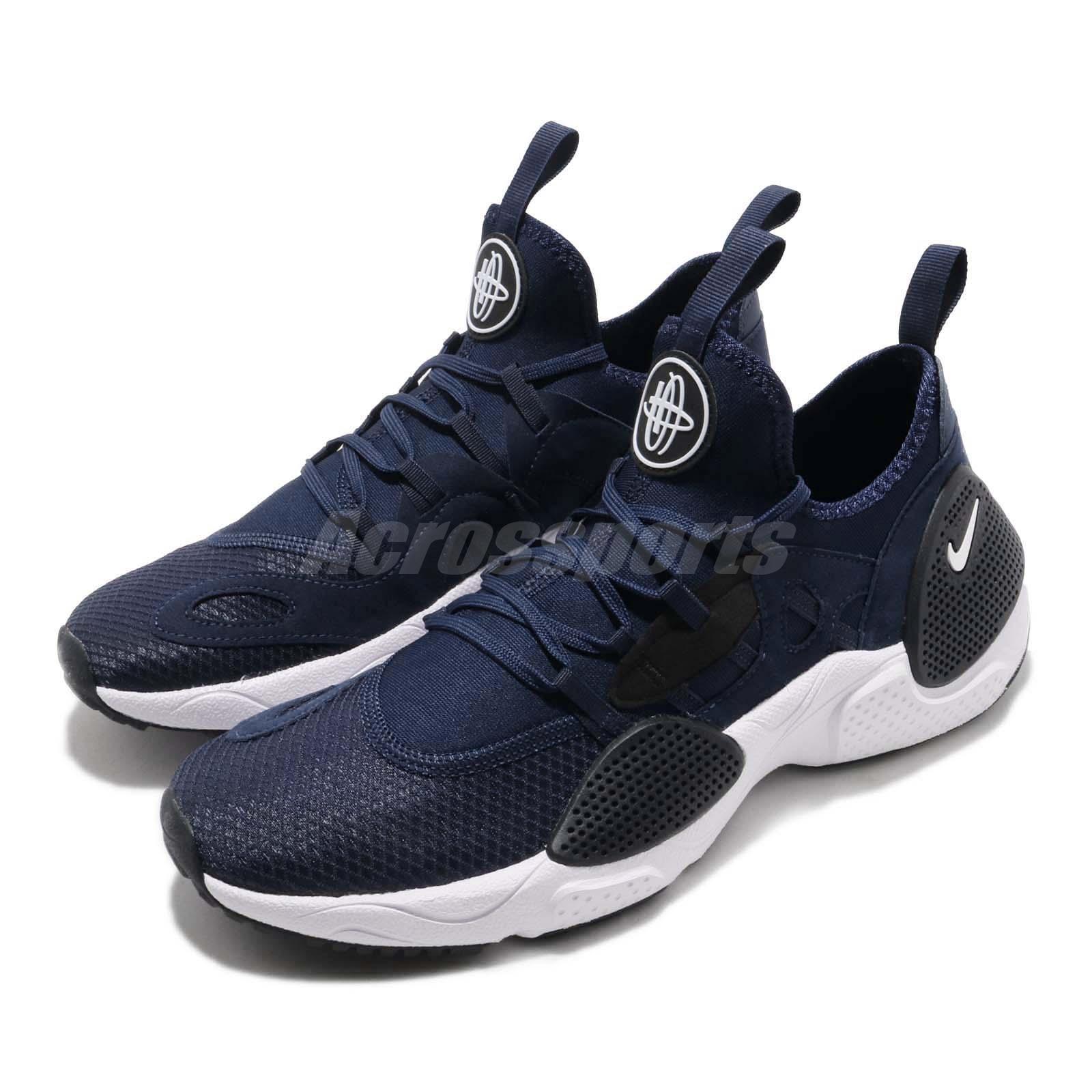 buy online 50bf3 e522d Details about Nike Huarache E.D.G.E. Txt Navy White Black Men Running Shoes  Sneaker AO1697-400