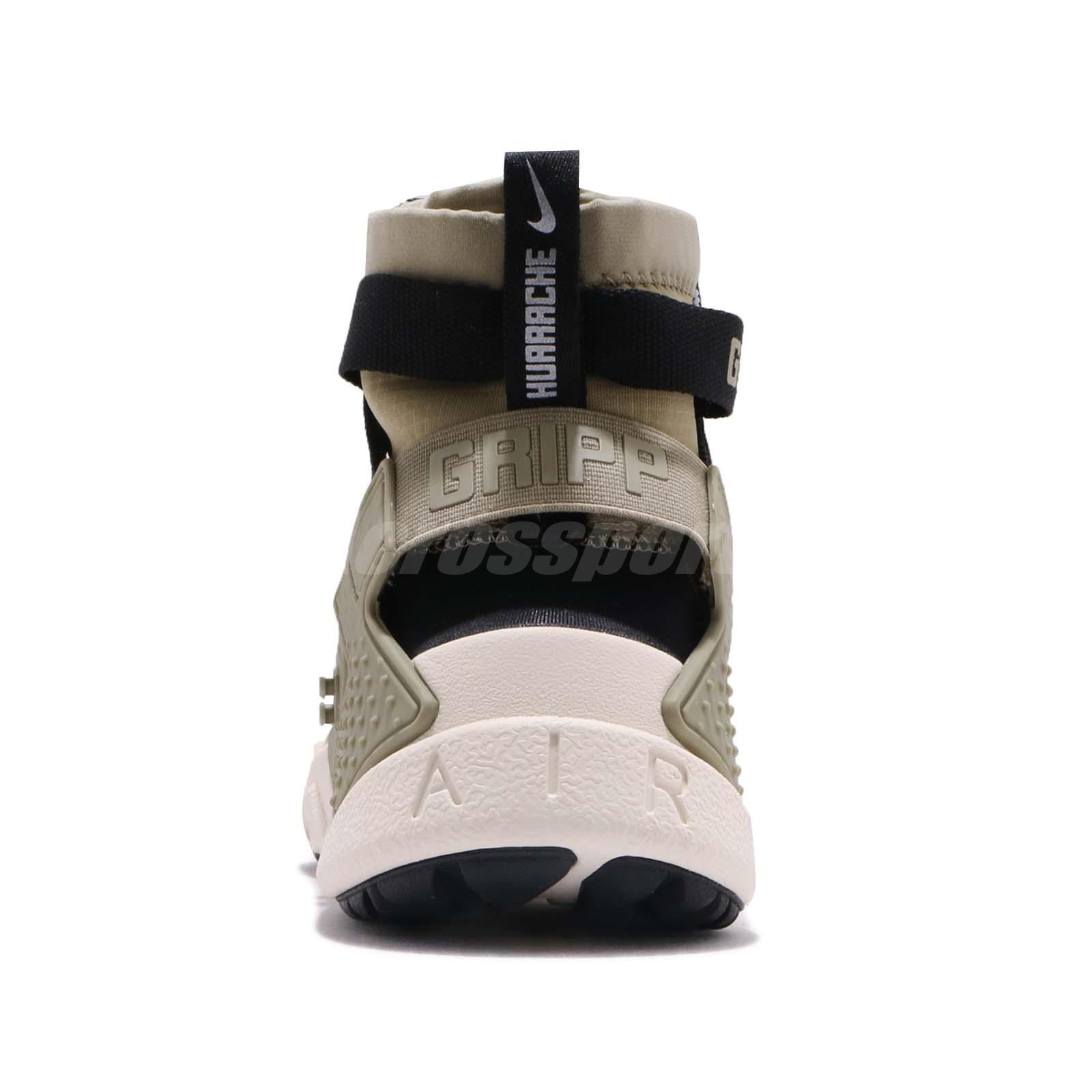 6e1e8784e194 Nike Air Huarache Gripp Neutral Olive Black Men Lifestyle Shoes ...