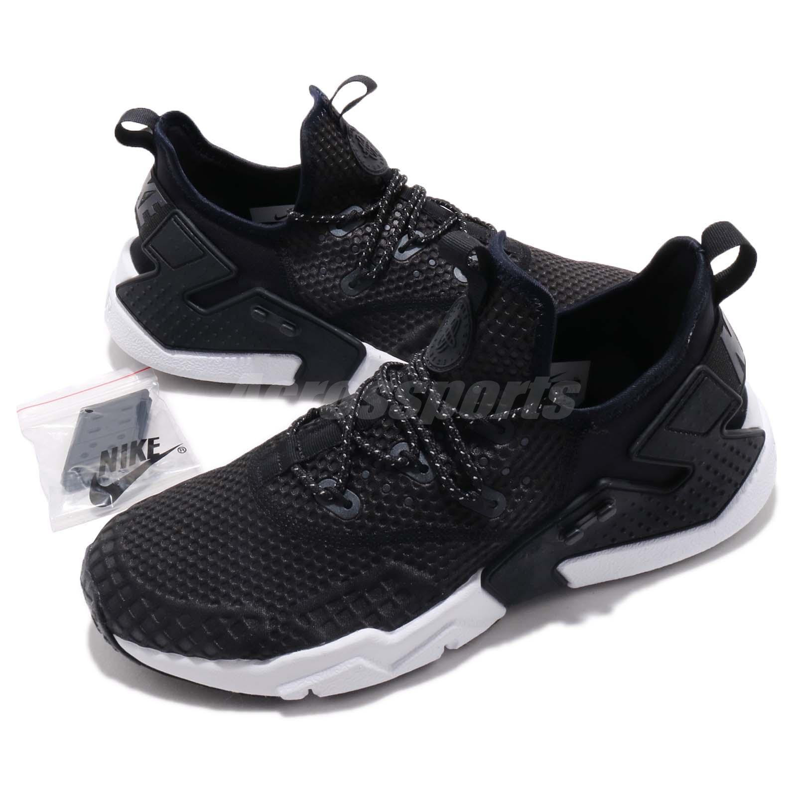 3a6da7a16942e4 Details about Nike Air Huarache Drift SE Black White Men Running Casual  Shoes AO1731-004