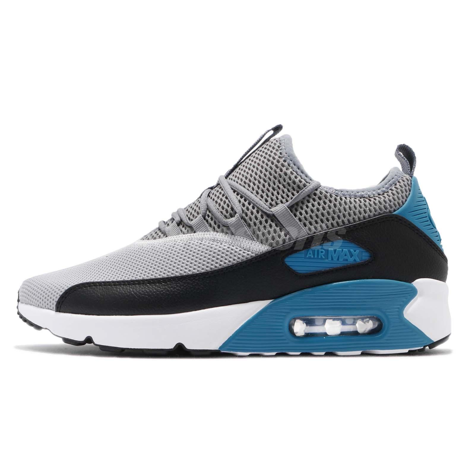purchase cheap a3d59 7fac0 Nike Air Max 90 EZ Ease Wolf Grey Black Men Running Shoes Sneakers  AO1745-004