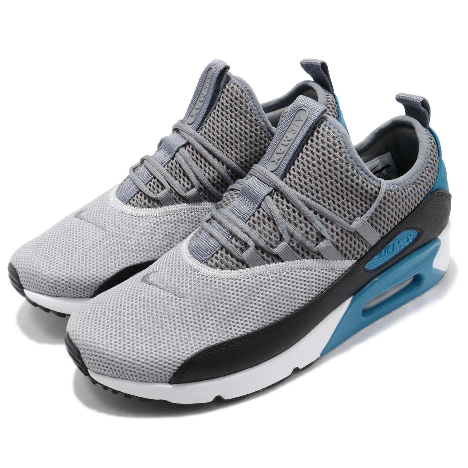 superior quality 64384 f1389 Details about Nike Air Max 90 EZ Ease Wolf Grey Black Men Running Shoes  Sneakers AO1745-004