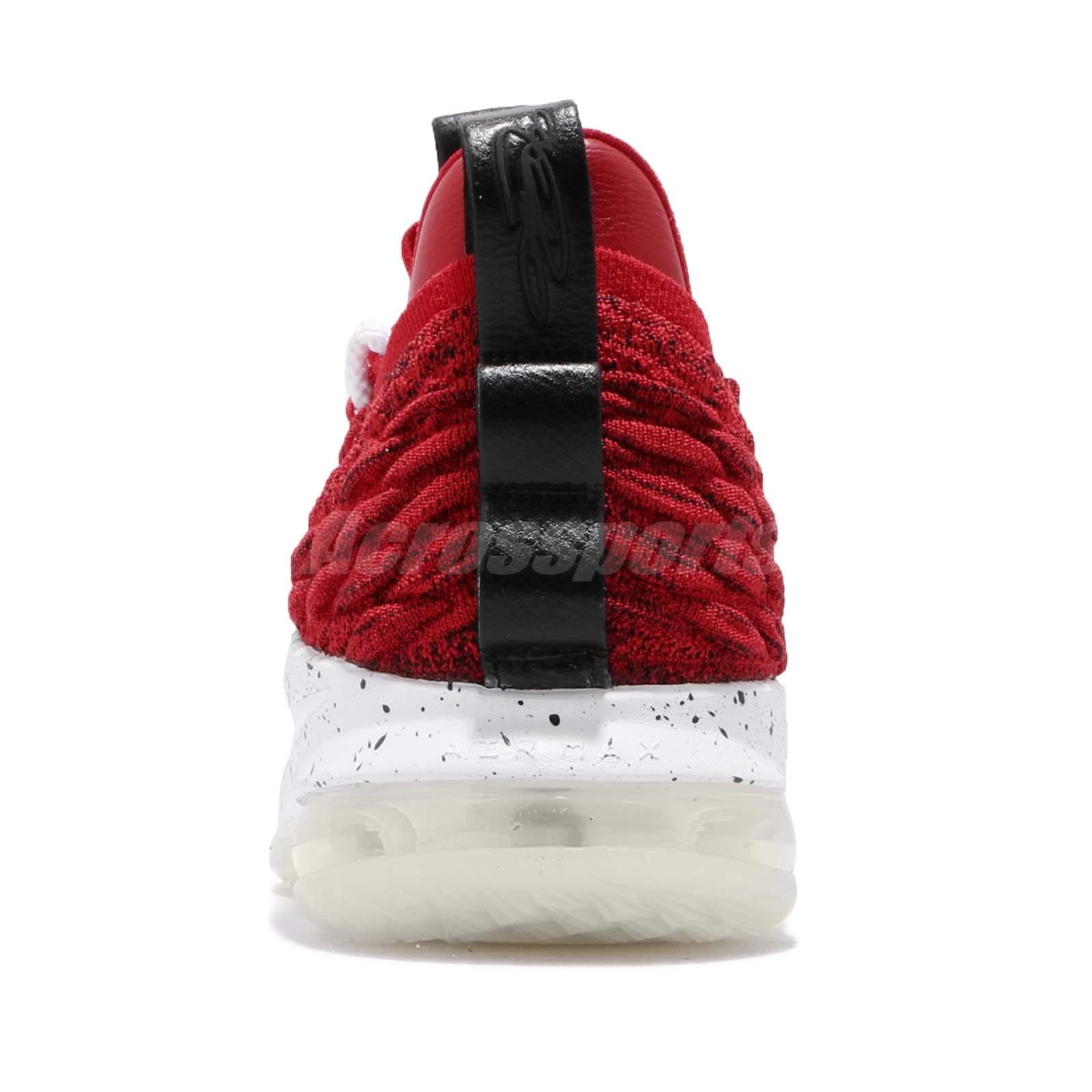Nike Lebron Xv Low Ep 15 University Red James Air Basketball Shoes Ao1756-600 Athletic Shoes