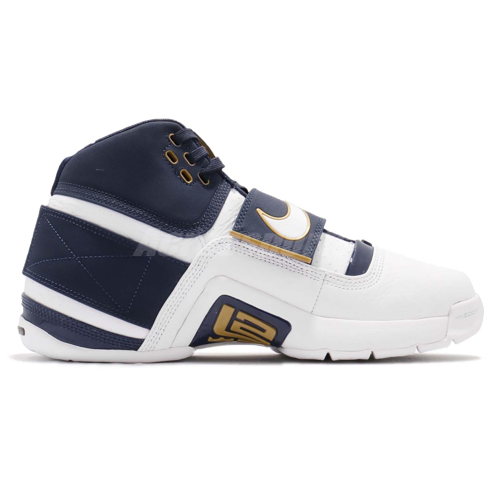 9ea61243c0d2e Nike Zoom LeBron Soldier CT16 QS 25 Straight James Navy White Men ...