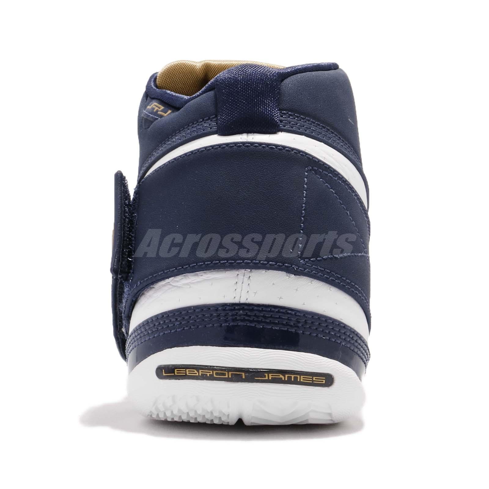 brand new d8dfd 644c0 Nike Zoom LeBron Soldier CT16 QS 25 Straight James Navy White Men ...