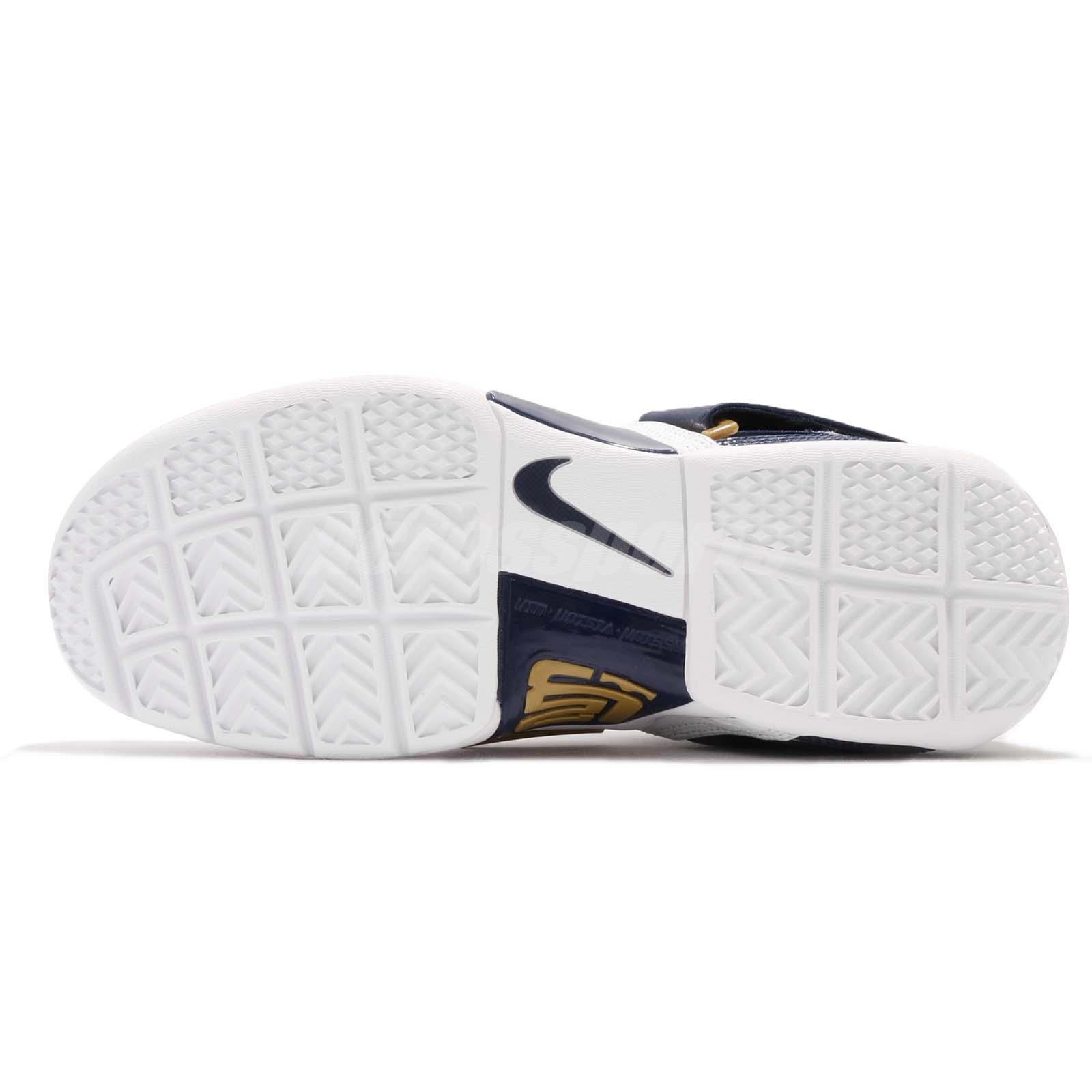 brand new 9da00 257d2 Nike Zoom LeBron Soldier CT16 QS 25 Straight James Navy White Men ...