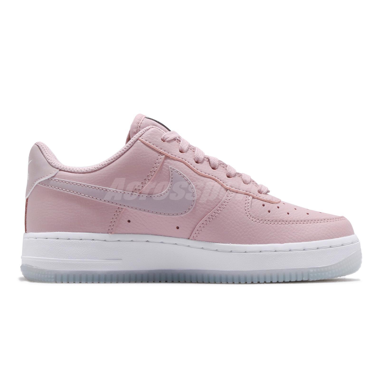 d5ab1dc7782de0 Nike Wmns Air Force 1 07 ESS AF1 Plum Chalk White Women Shoes ...
