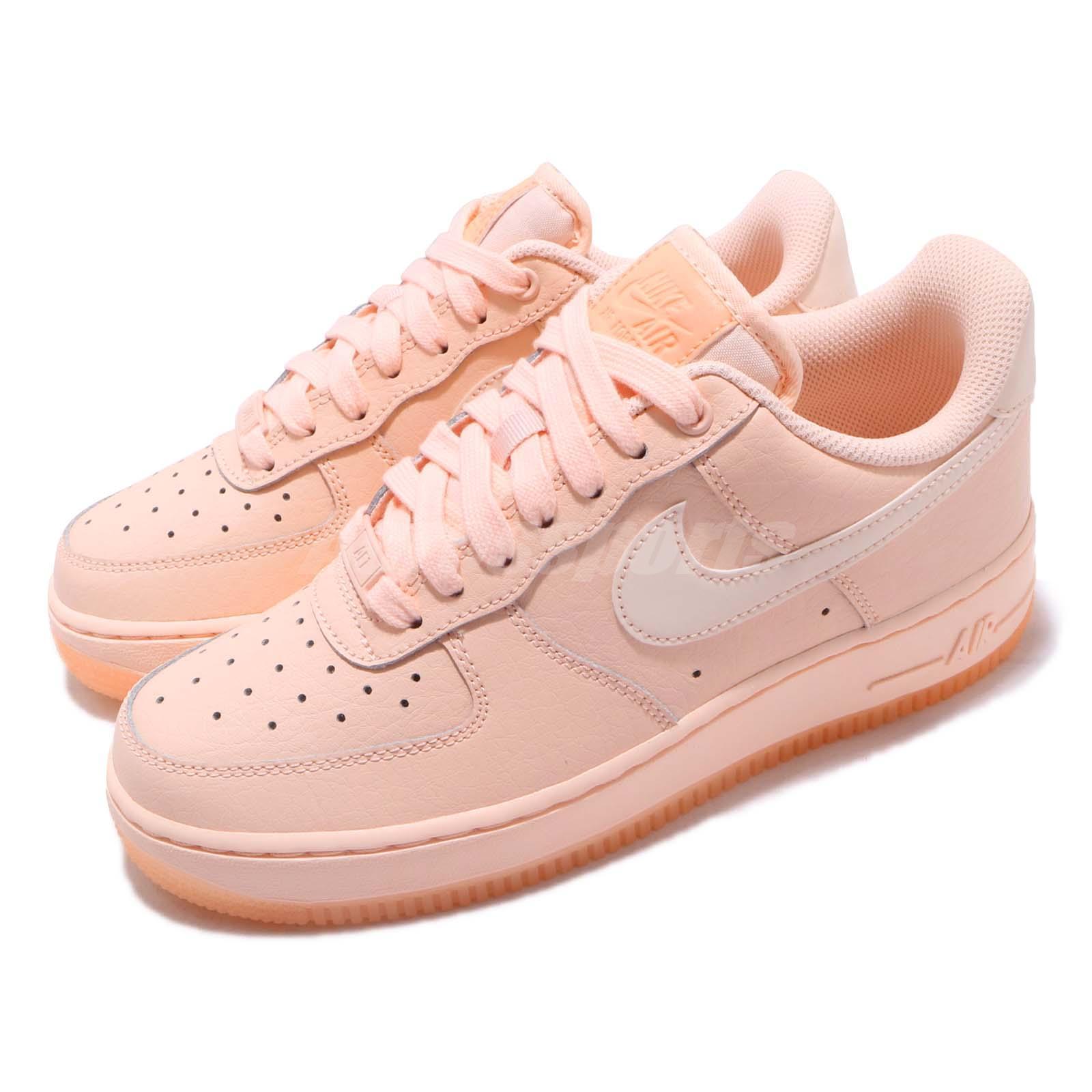 best website 08e40 e6ed3 Details about Nike Wmns Air Force 1 07 Essential Crimson Tint Reflect Womens  Shoes AO2132-800