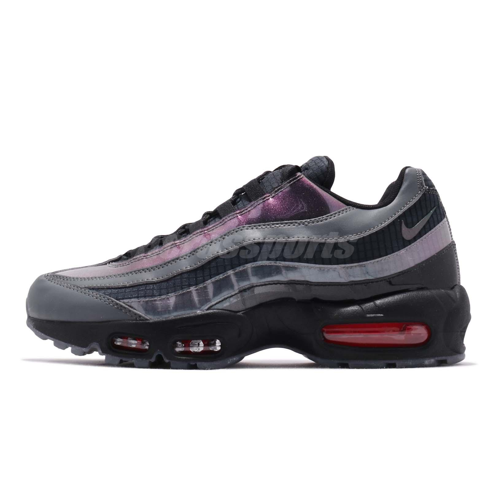 brand new f4f64 1daac Nike Air Max 95 LV8 Ember Glow Black Dark Grey Men Running Shoes AO2450-001