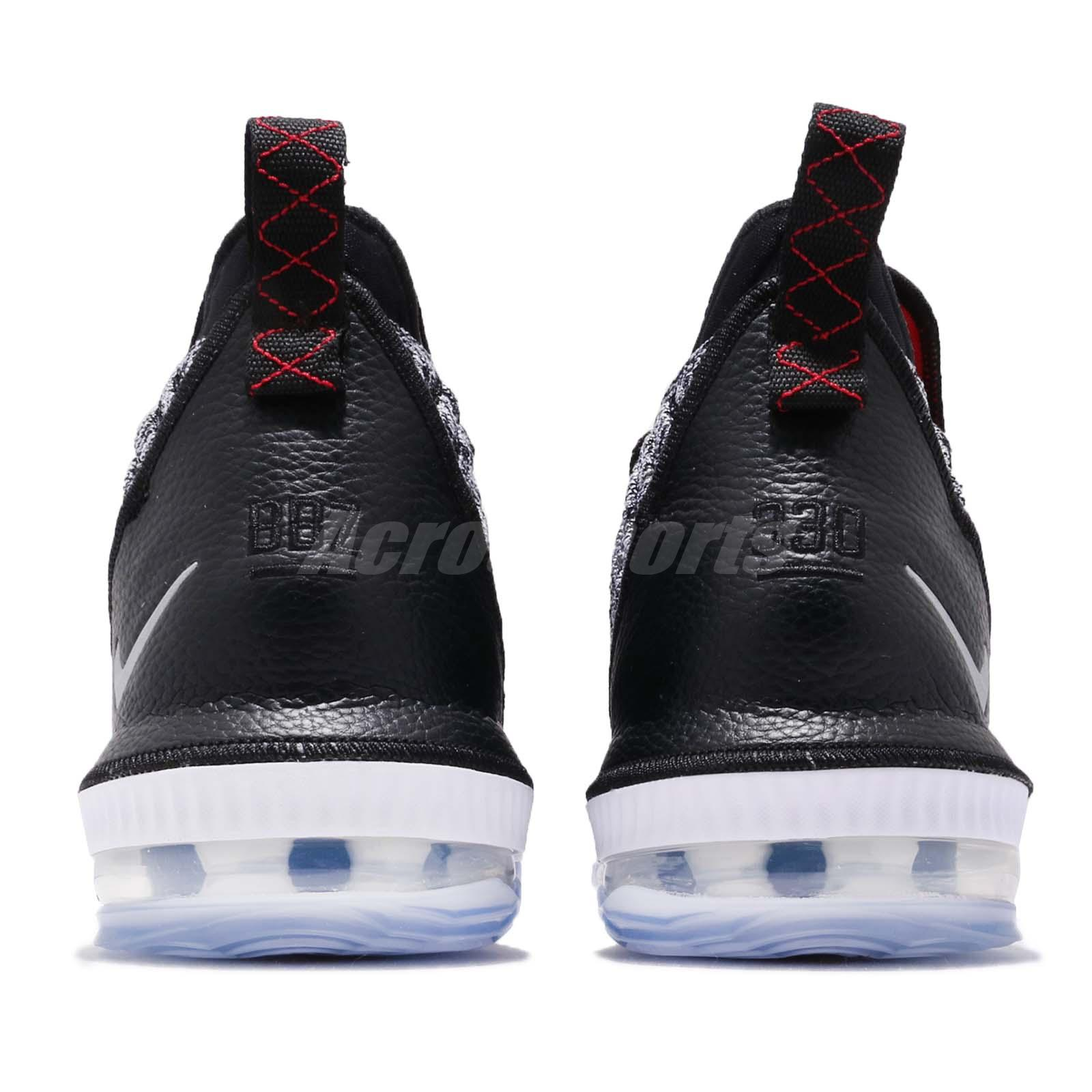 dc0a24a51c0 Nike LeBron XVI EP 16 James Dunkman Black White Mens Basketball ...