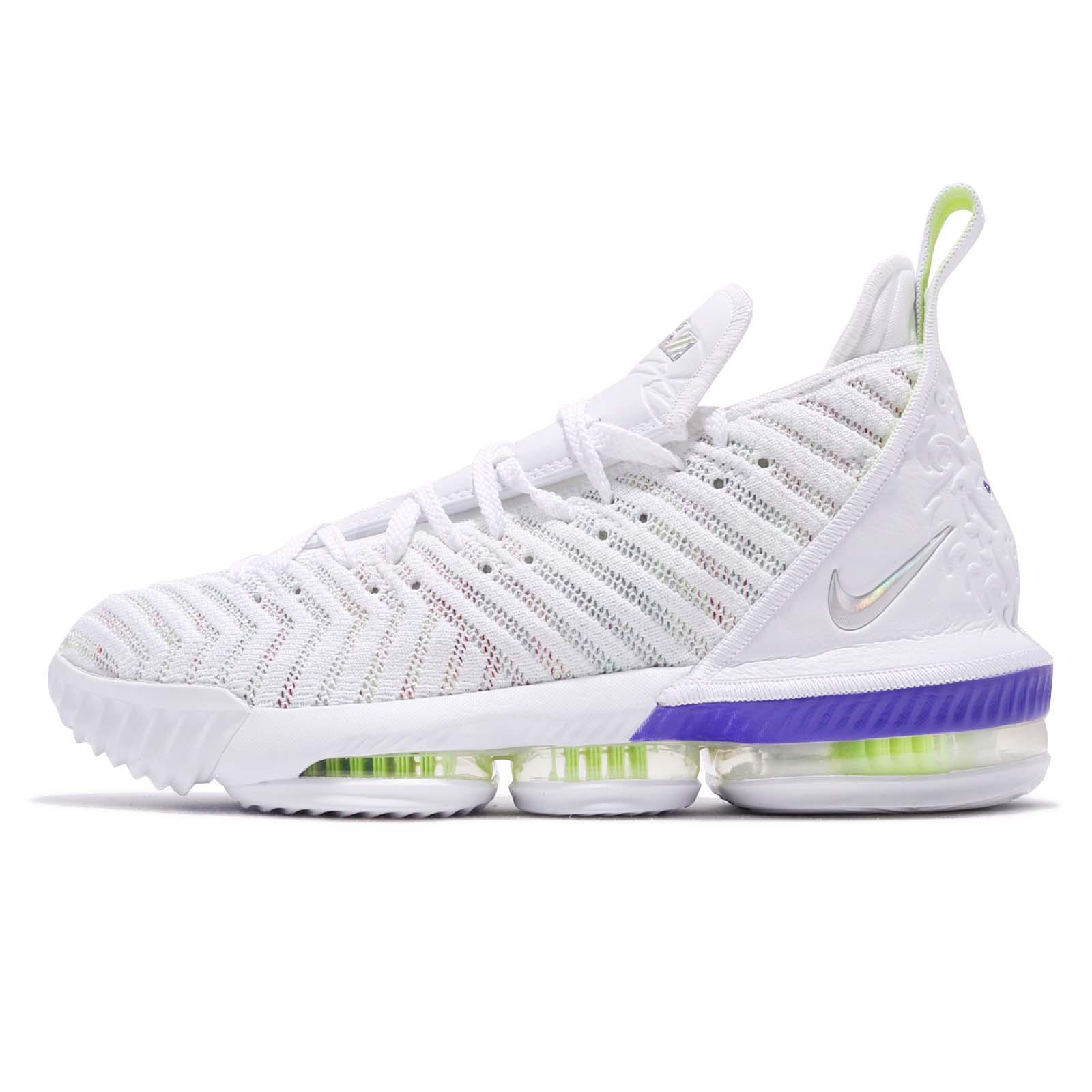 13dc88593cf Nike Lebron XVI EP 16 Buzz Lightyear James White Men Basketball Shoes  AO2595-102