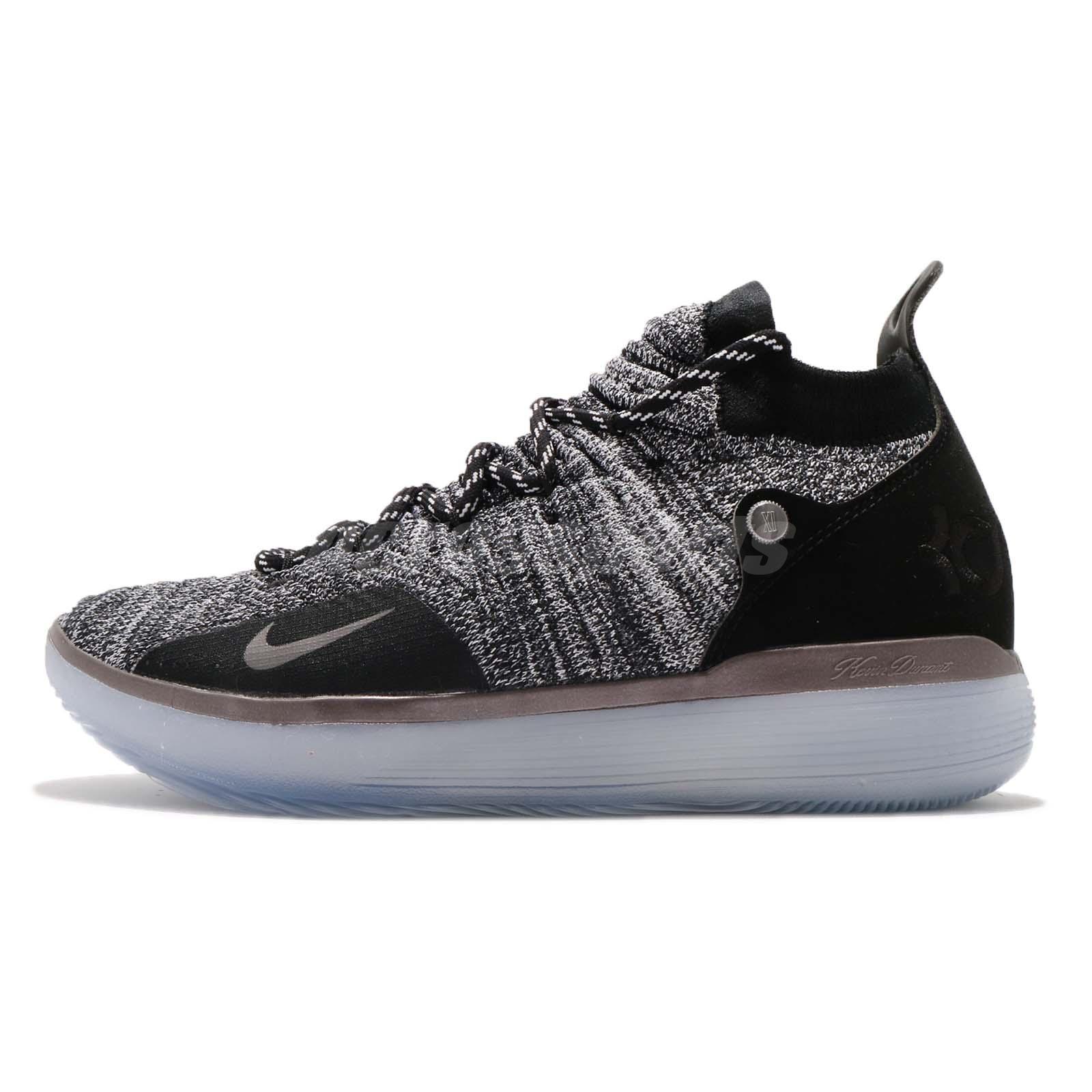 Nike Zoom KD 11 EP Still KD Black Grey Kevin Durant Basketball Shoes AO2605- 004 04385b6d7b6c