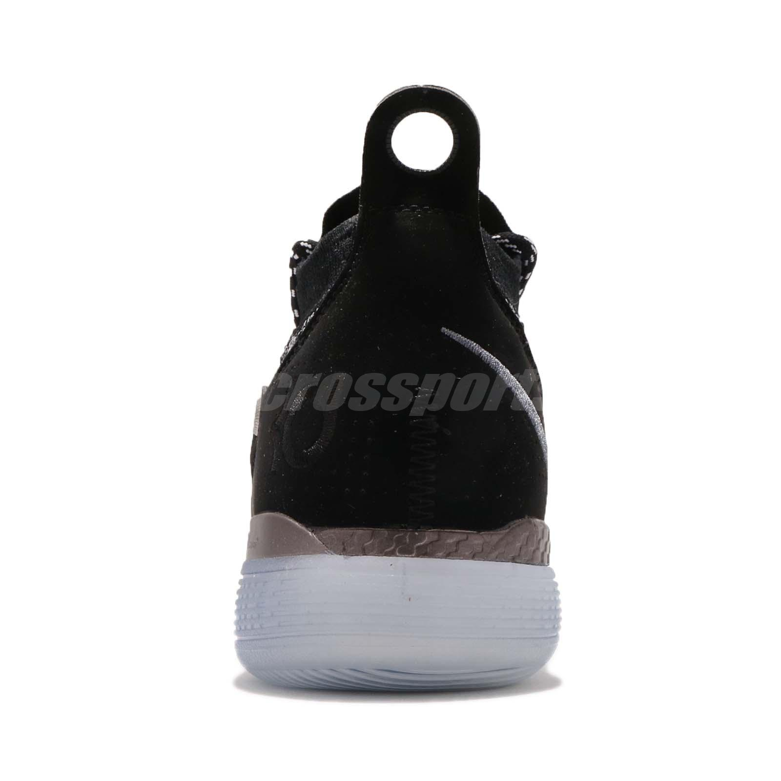 be9bf1ed056a Nike Zoom KD 11 EP Still KD Black Grey Kevin Durant Basketball Shoes ...