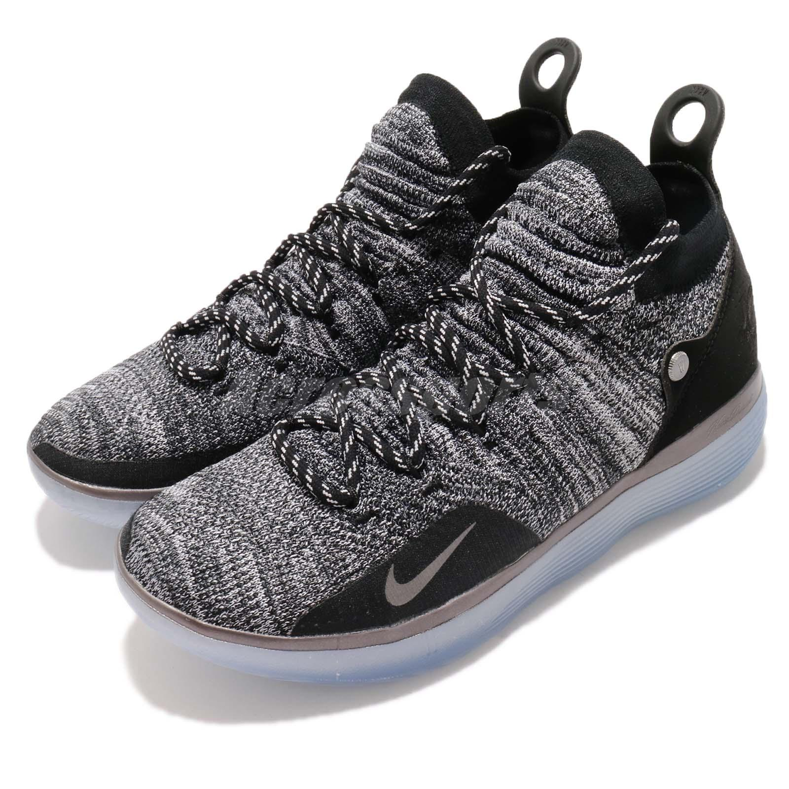 fb13ade25c15 Details about Nike Zoom KD 11 EP Still KD Black Grey Kevin Durant  Basketball Shoes AO2605-004