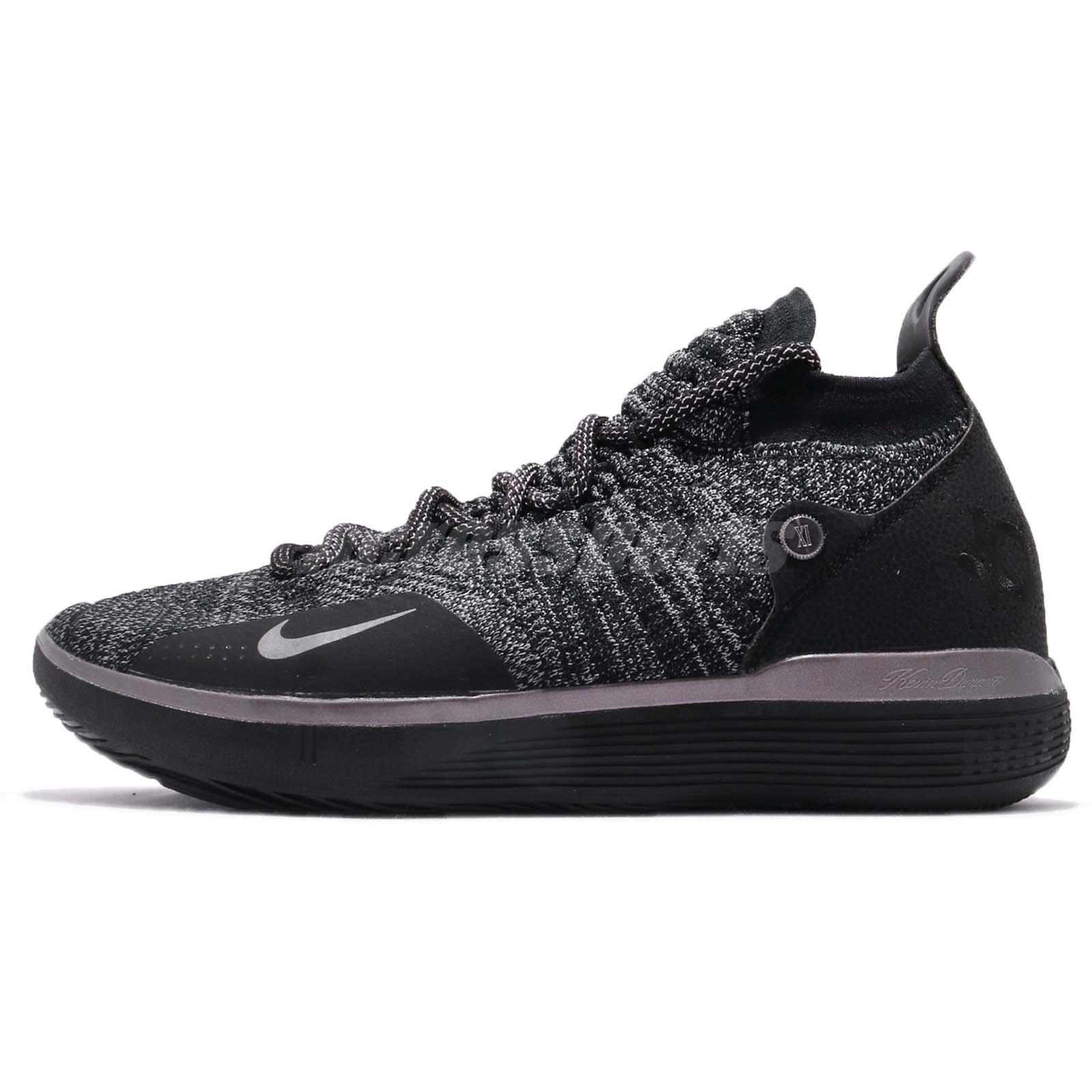the latest 1115b 8bac6 Nike Zoom KD11 EP XI Kevin Durant Black Twilight Pulse Men Shoes AO2605-005