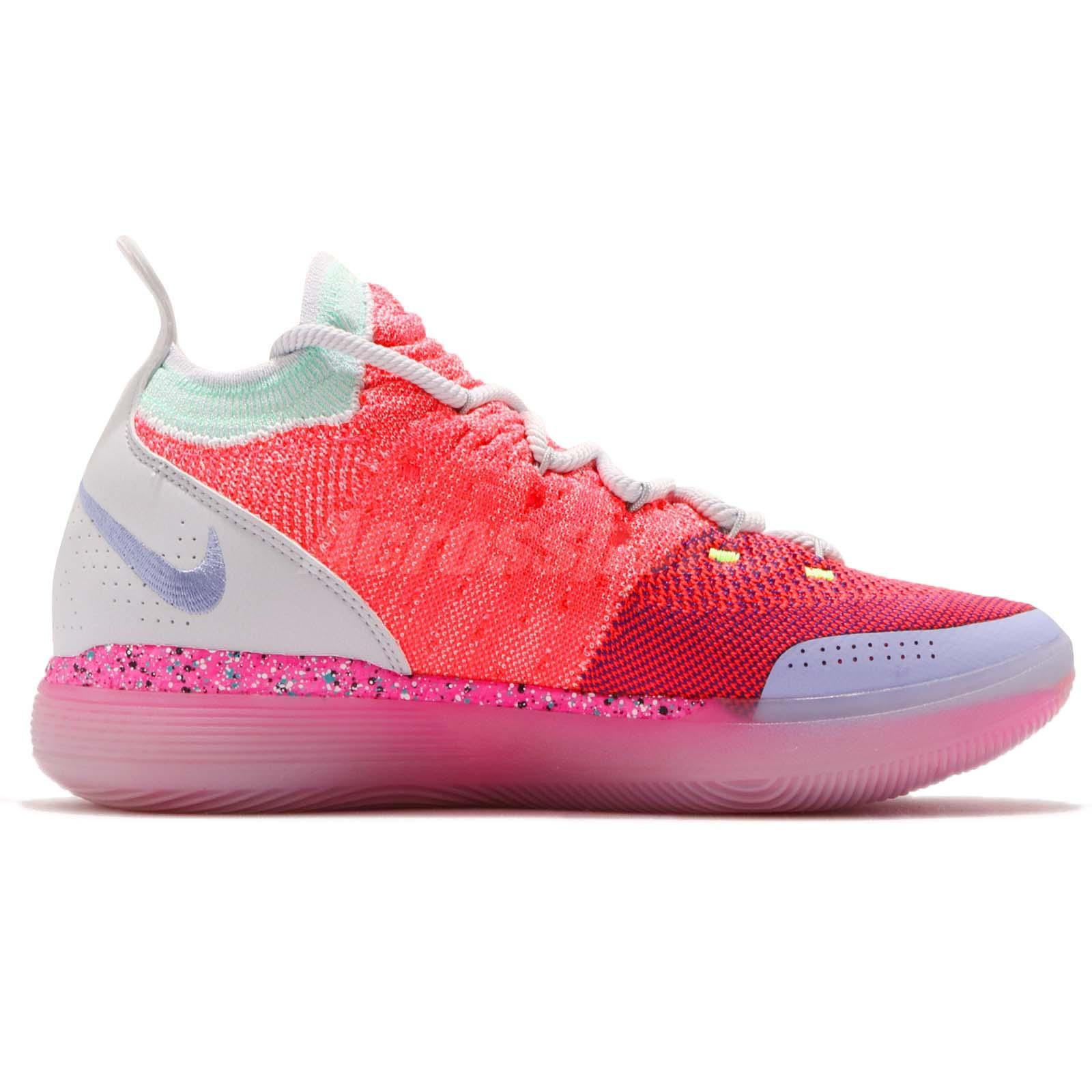 9523e5372e4 Nike Zoom KD 11 EP XI EYBL Peach Jam Hot Punch Kevin Durant Men ...