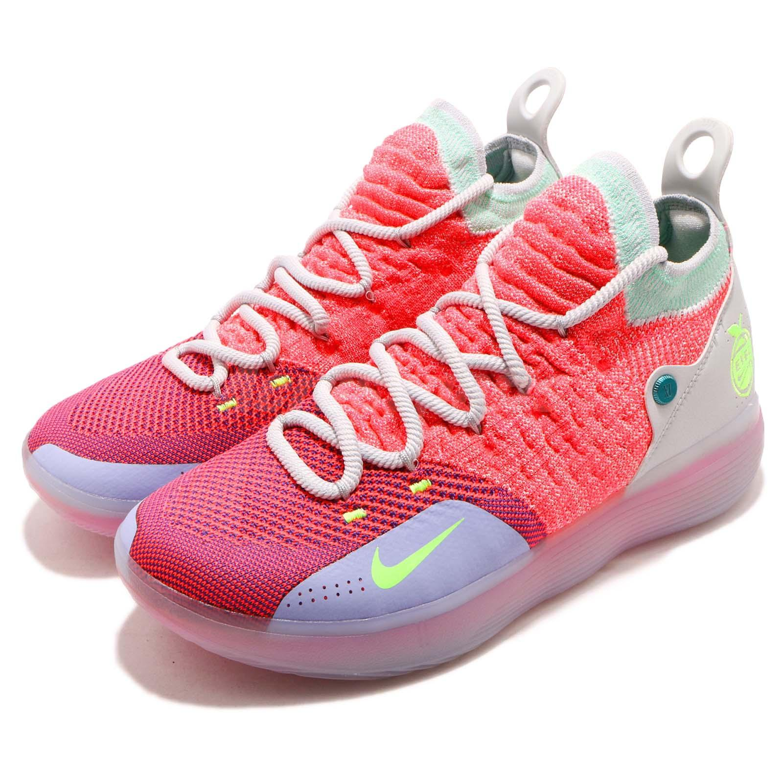 online store 542e3 1305c Details about Nike Zoom KD 11 EP XI EYBL Peach Jam Hot Punch Kevin Durant  Men Shoes AO2605-600