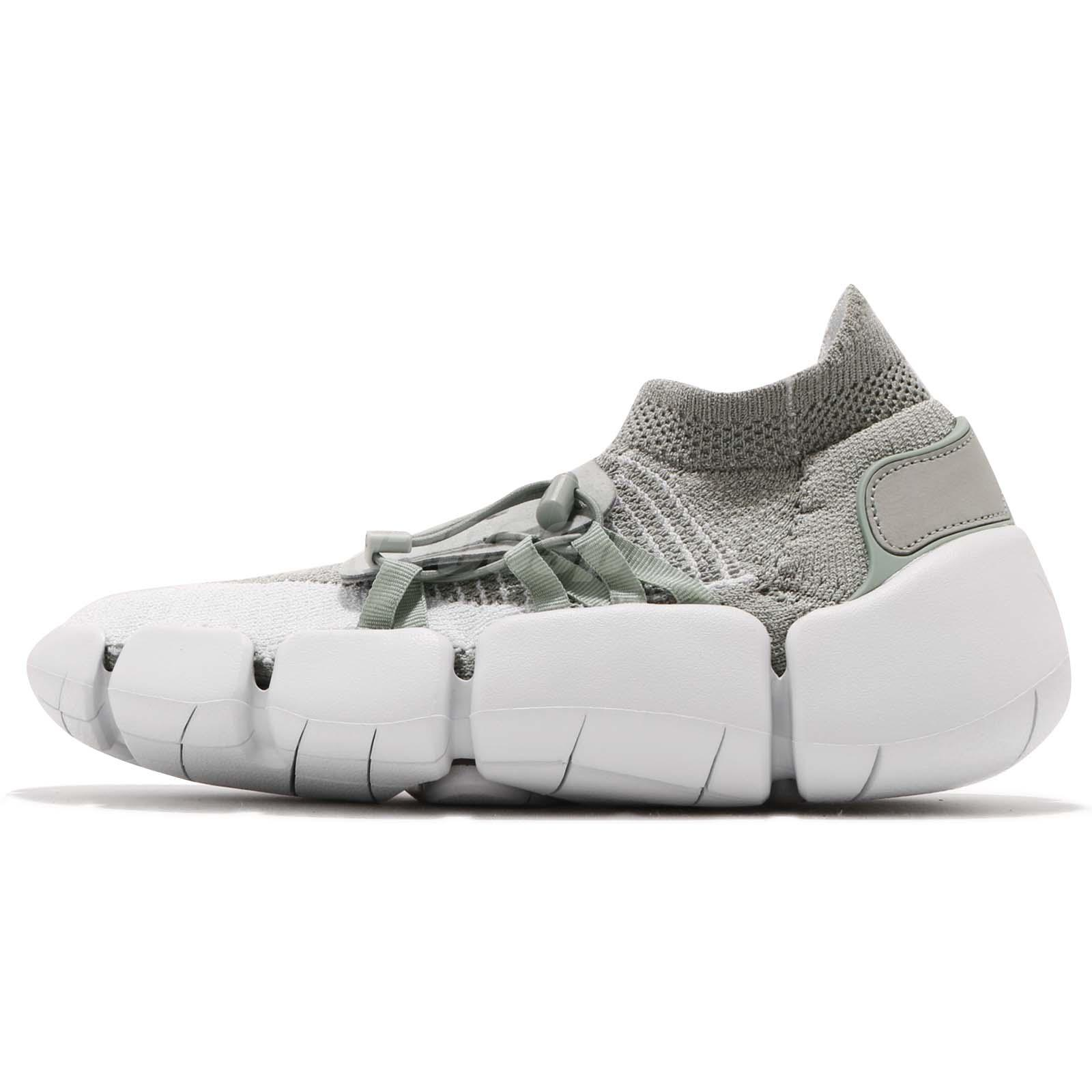 cheap for discount 2b3d8 3e7bc Nike Footscape Flyknit DM Grey Men Running Lifestyle Slip On Shoes  AO2611-002