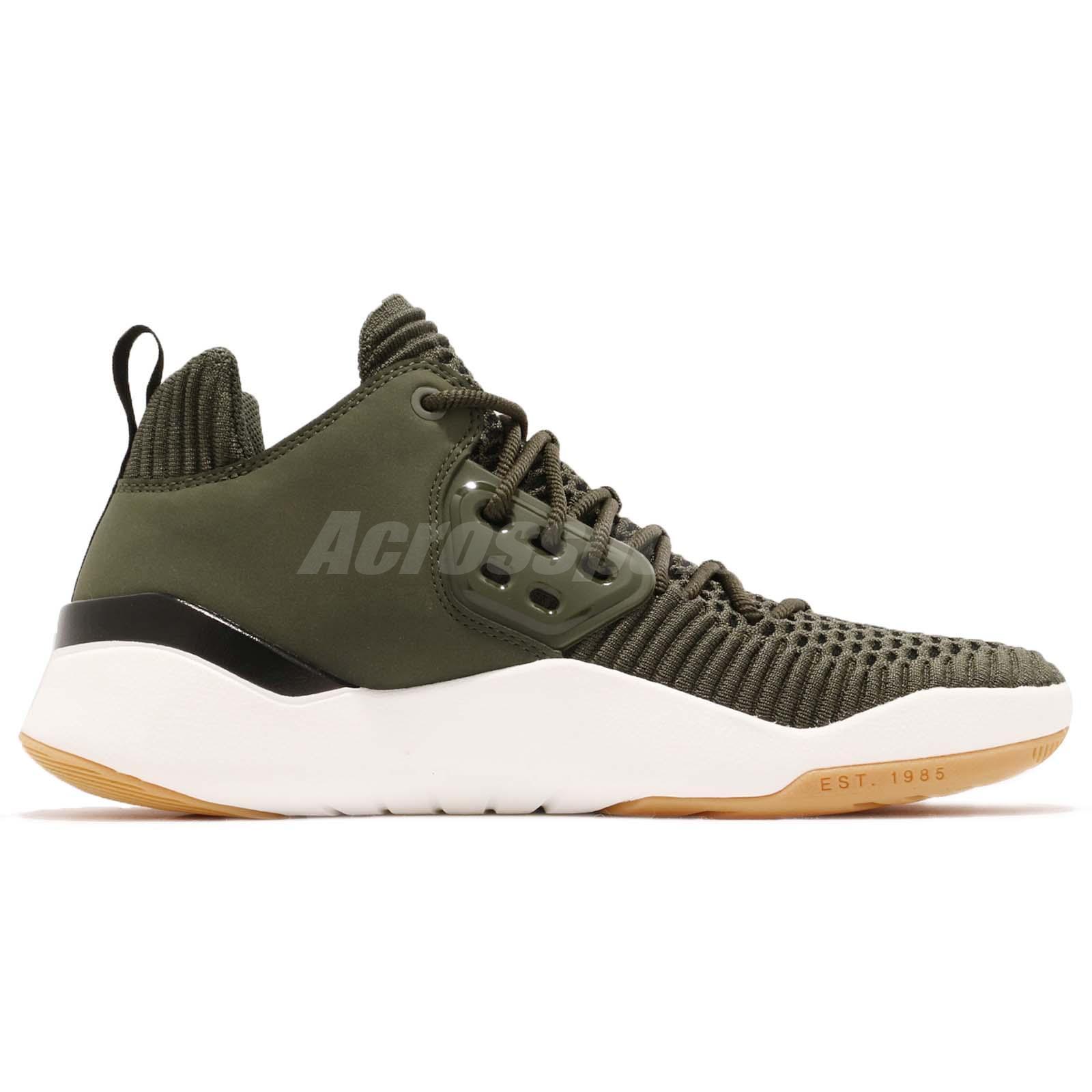 a6ca8df1a73 Details about Nike Jordan DNA LX Flyknit Cargo Khaki Green Gum Men Casual  Shoes AO2649-301