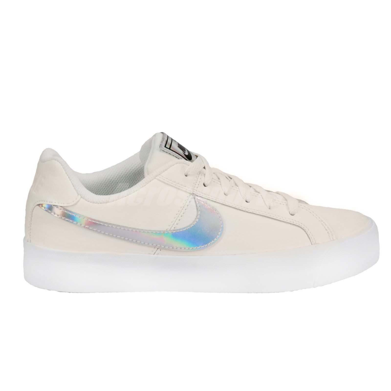 8e9bd6b5e0cfce Nike Wmns Court Royale AC Sail White Women Casual Shoes Sneakers ...