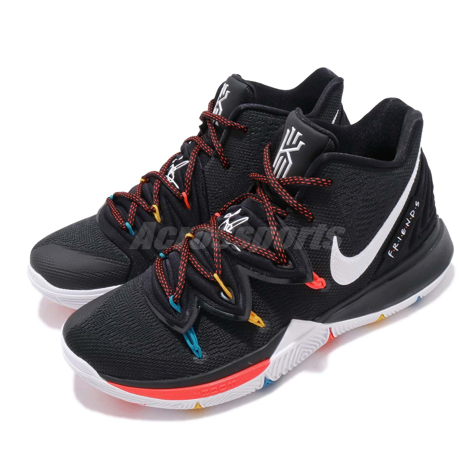 premium selection 98cee 31033 Details about Nike Kyrie 5 EP V Irving FRIENDS Black White Bright Crimson  Men Shoes AO2919-006