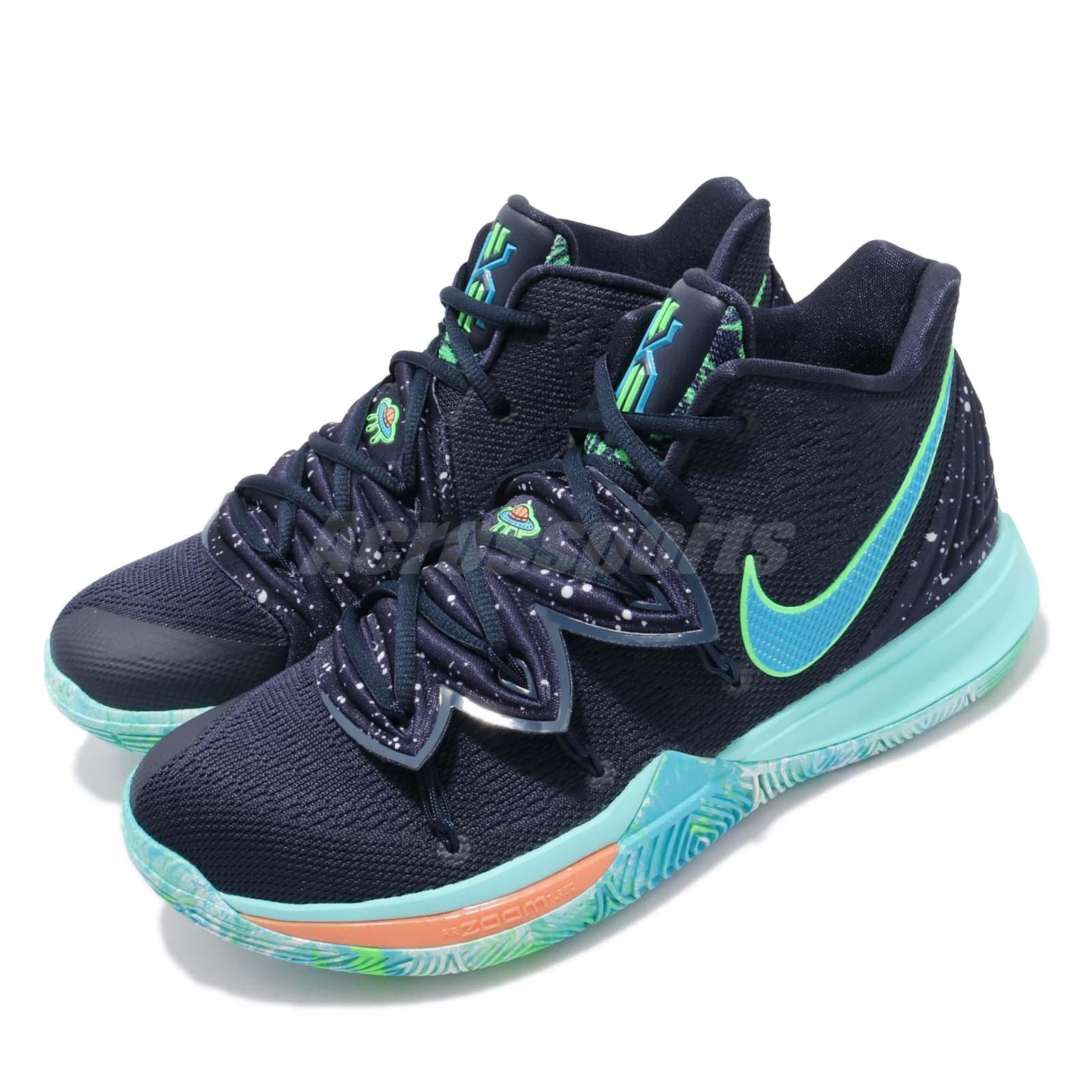 Nike Kyrie 5 EP UFO Obsidian Blue Mens Basketball Shoes ...Kyrie Irving Shoes