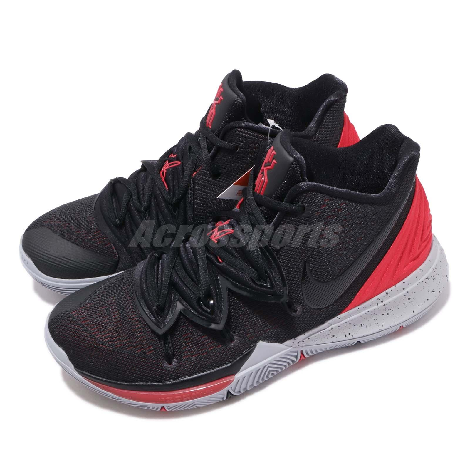 detailed look 90f41 a0d45 Details about Nike Kyrie 5 EP Irving University Red Black Bred Men  Basketball Shoes AO2919-600