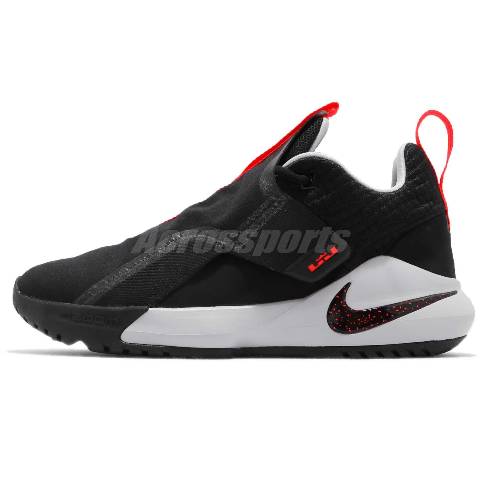 087ab330441 Nike Ambassador XI 11 Lebron James LBJ Black Crimson Grey Men Shoes AO2920- 001