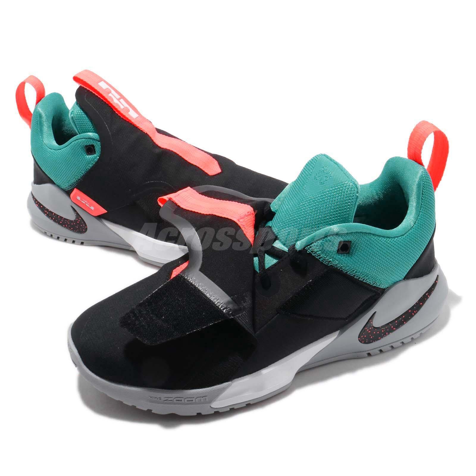 new product d23f4 70da8 Nike Ambassador XI 11 Lebron James Black Cabana Men Basketball Shoes ...