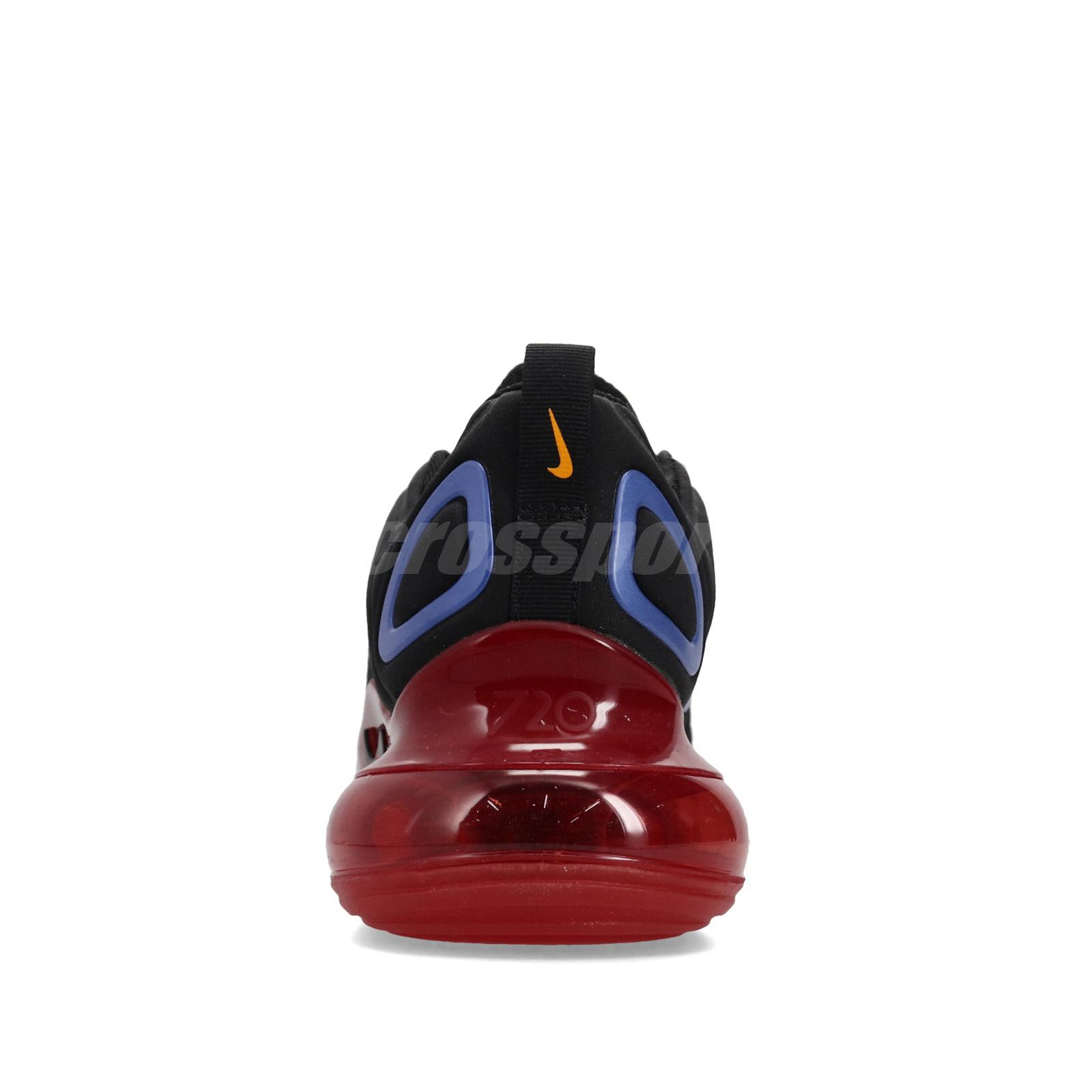 Details about Nike Air Max 720 Black Blue Red Yellow Men Lifestyle Shoes Sneakers AO2924 014