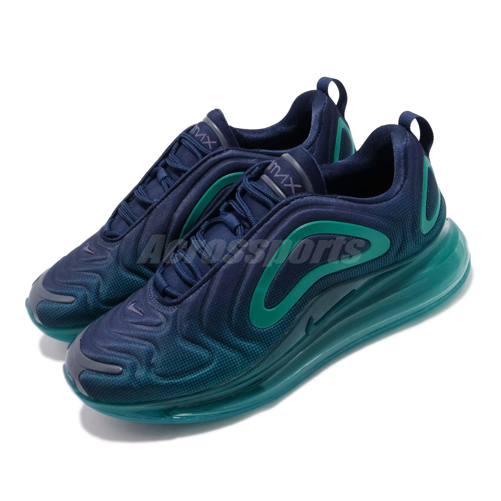 Details about Nike Air Max 720 Nightshade Blue Void Men Running Shoes Sneakers AO2924 405