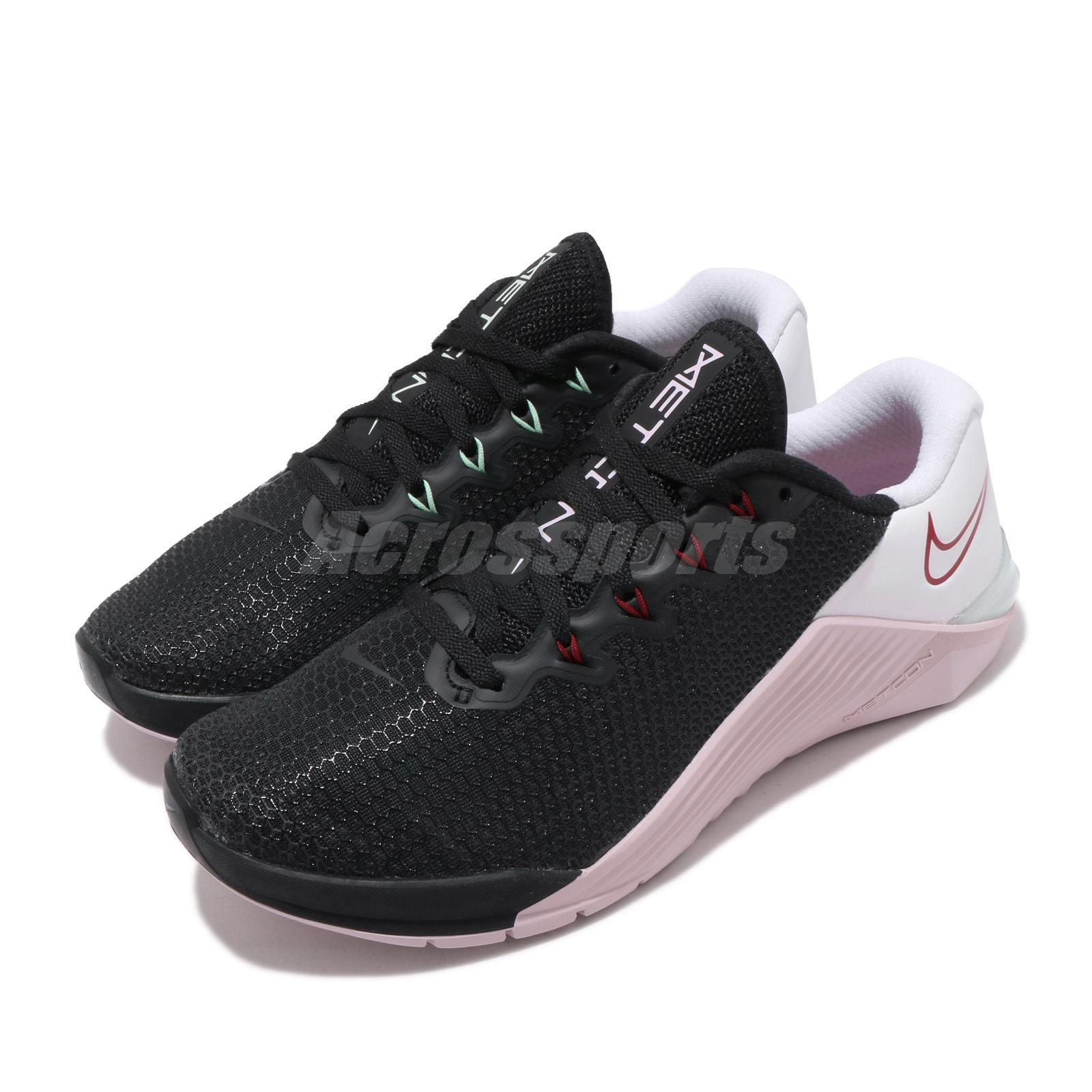 Nike Wmns Metcon 5 Black Noble Red