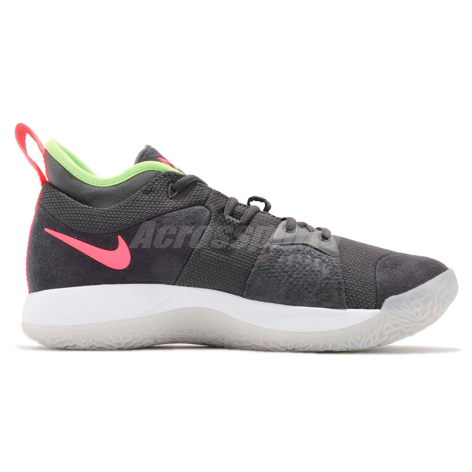 7074455c5a7c Nike PG 2 EP Paul George II Anthracite Hot Punch Mens Basketball ...