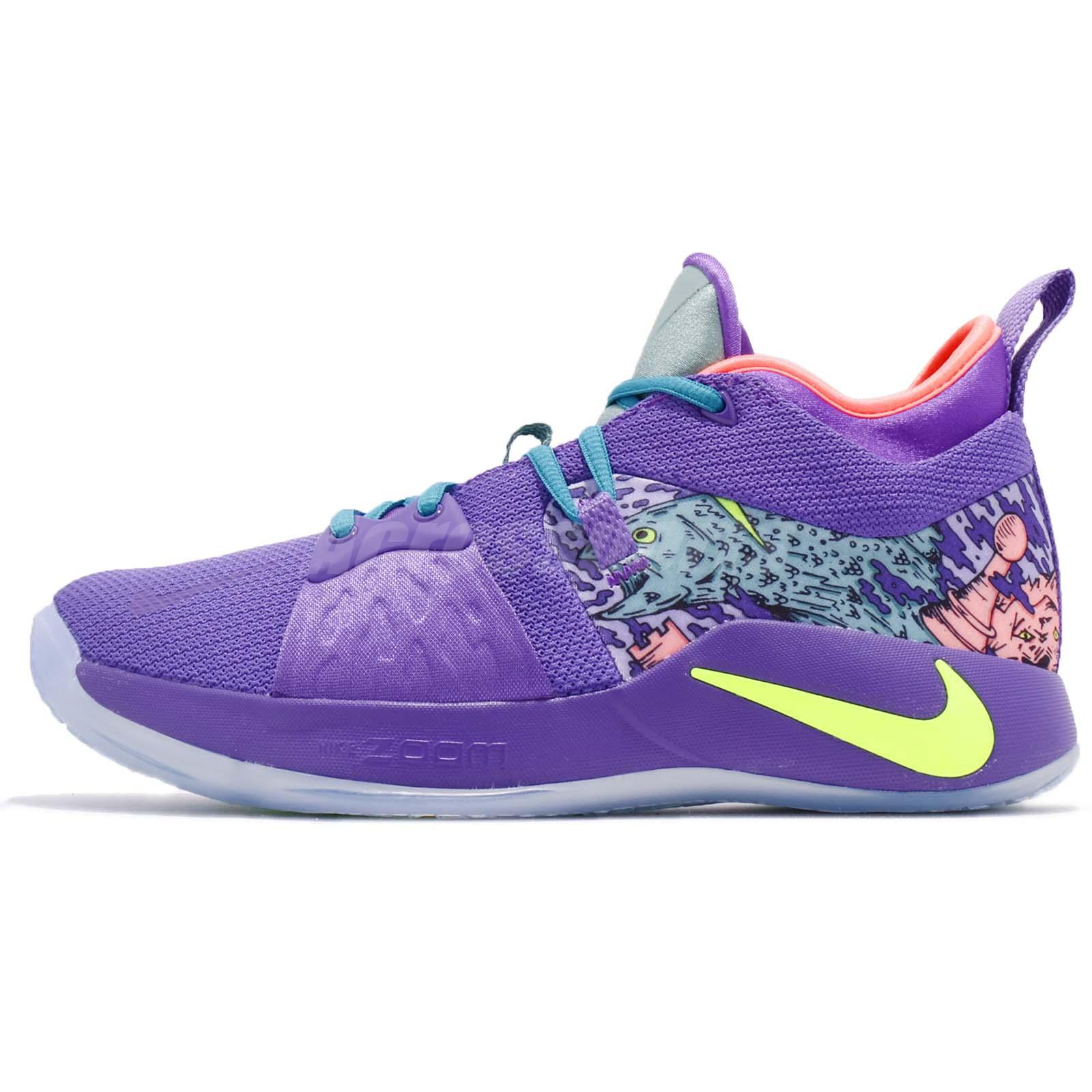 buy popular f54de 2d981 Nike PG 2 MM EP II Paul George Mamba Mentality Purple Men Basketball AO2985- 001