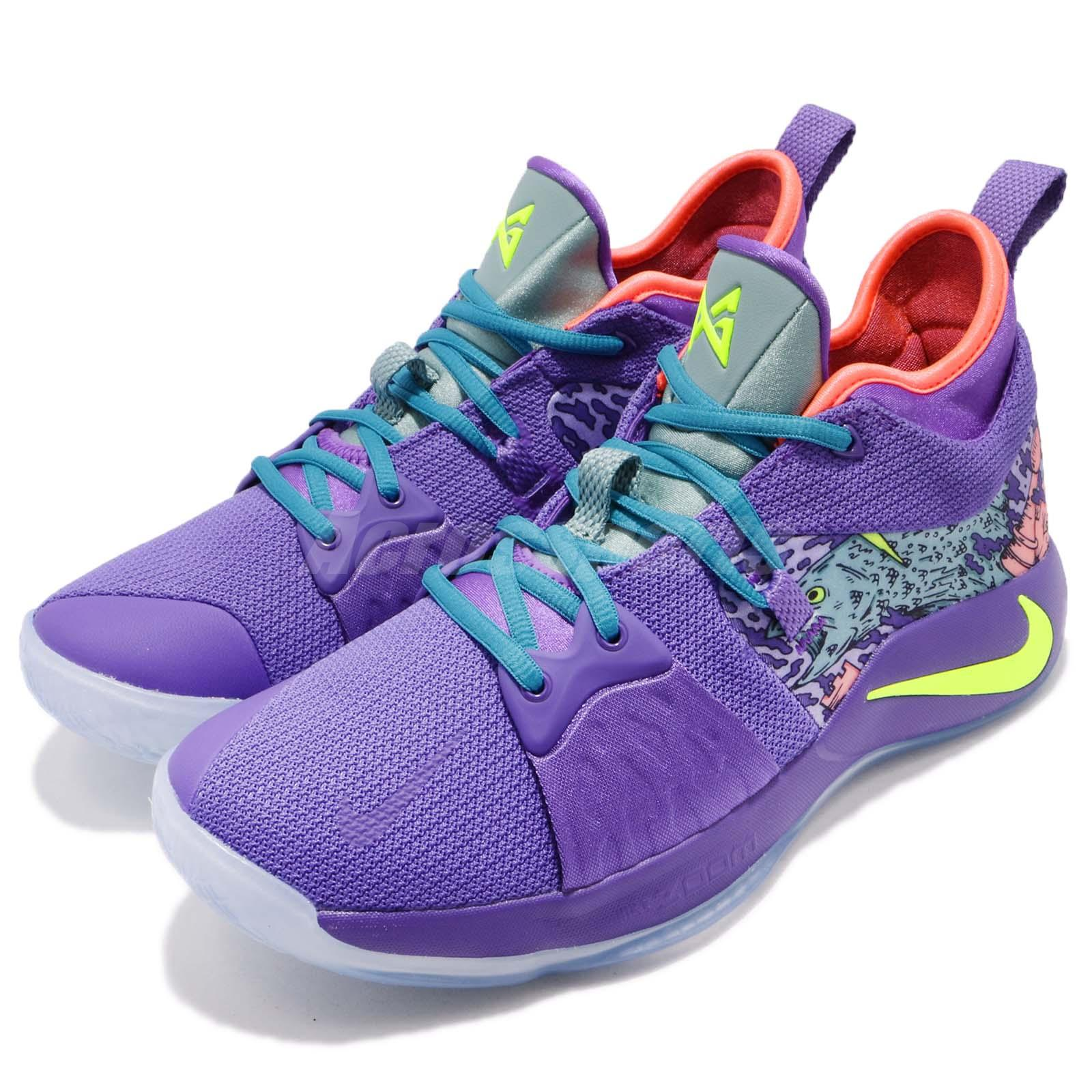 ed0e8c47d39 Details about Nike PG 2 MM EP II Paul George Mamba Mentality Purple Men  Basketball AO2985-001