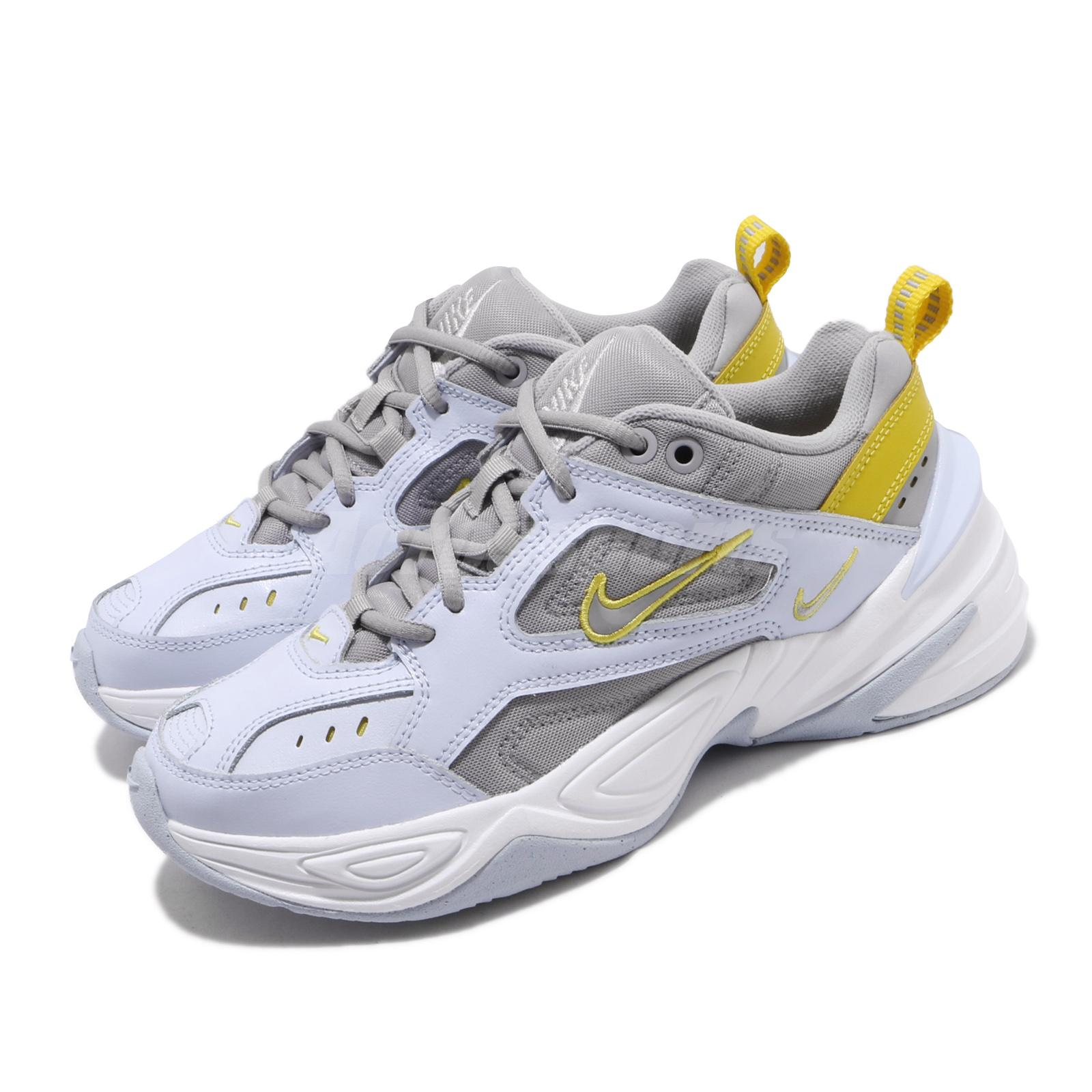 comprender Mañana rural  Nike Wmns M2K Tekno Half Blue Grey Yellow Womens Retro Running Shoes  AO3108-403 | eBay
