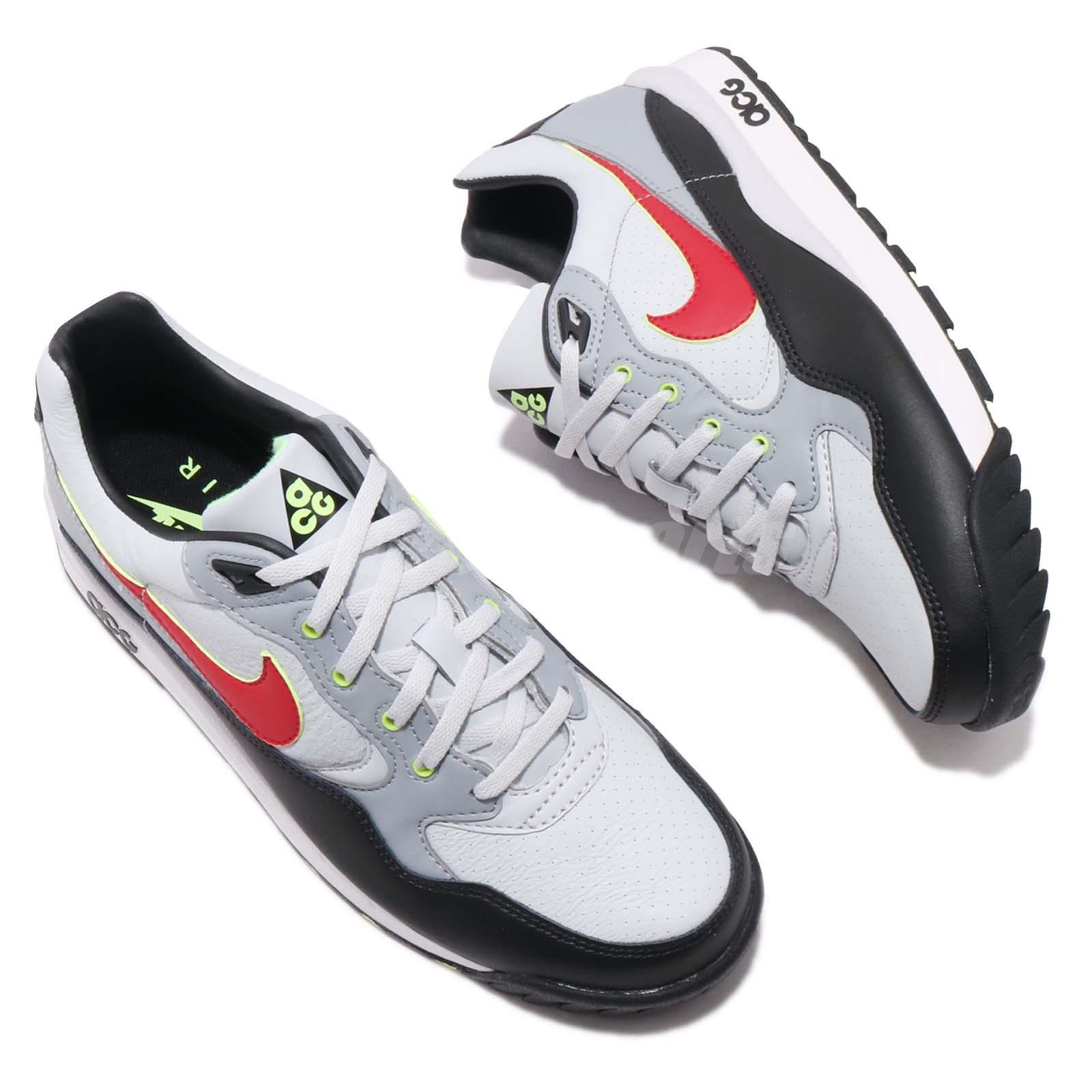 Nike Air Wildwood ACG Grey Red Black Men Outdoors Shoes Sneakers ... 16515865a