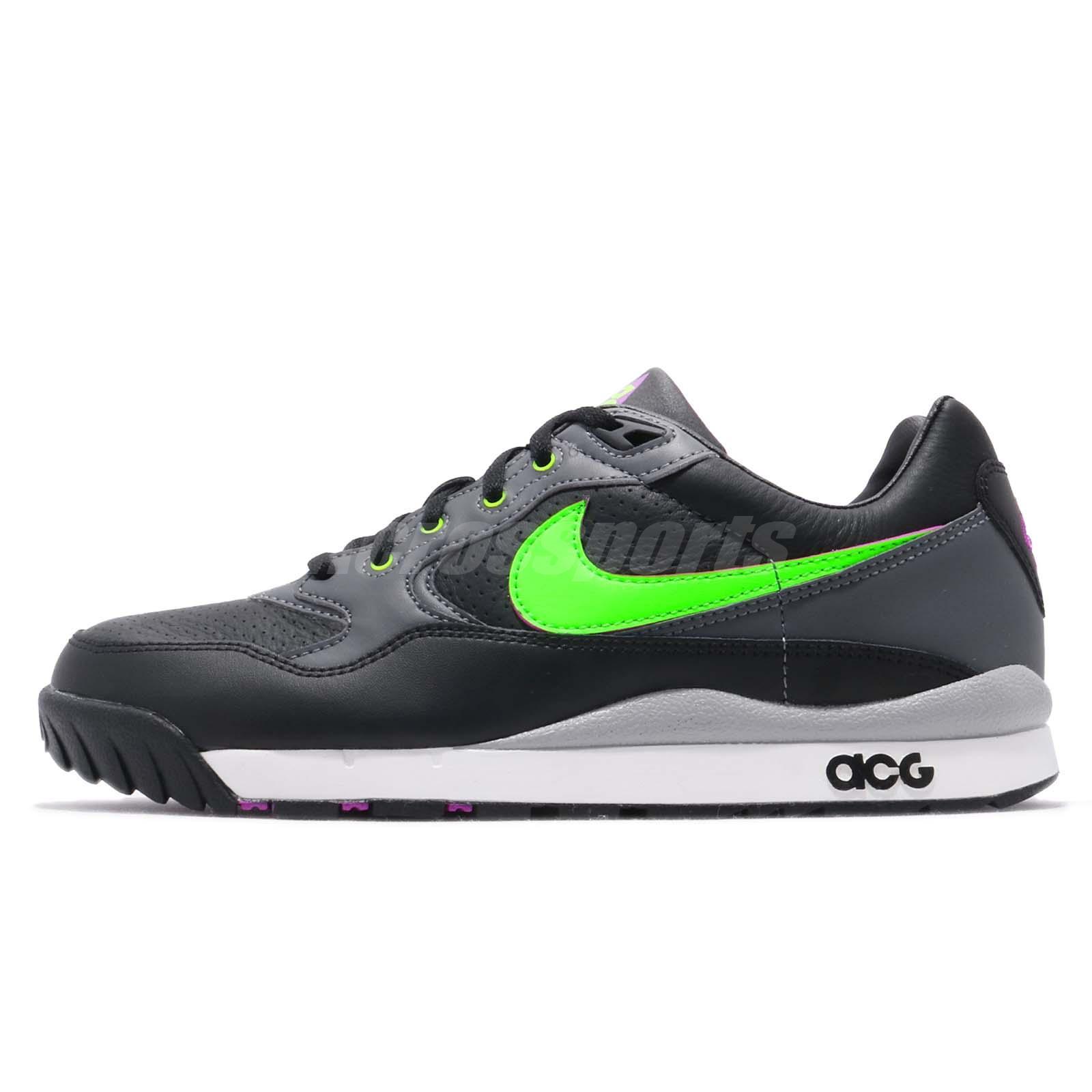 buy online 422db 35888 Nike Air Wildwood ACG Black Green Mens Outdoors Shoes Sneakers AO3116-002