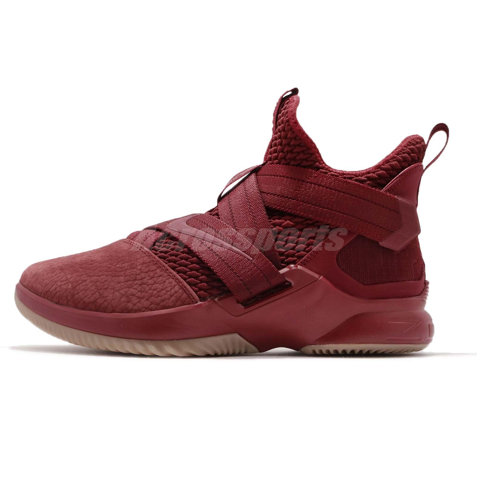 5e85e895bd2 Nike LeBron Soldier XII 12 SFG EP James Team Red Basketball Shoes AO4055-600