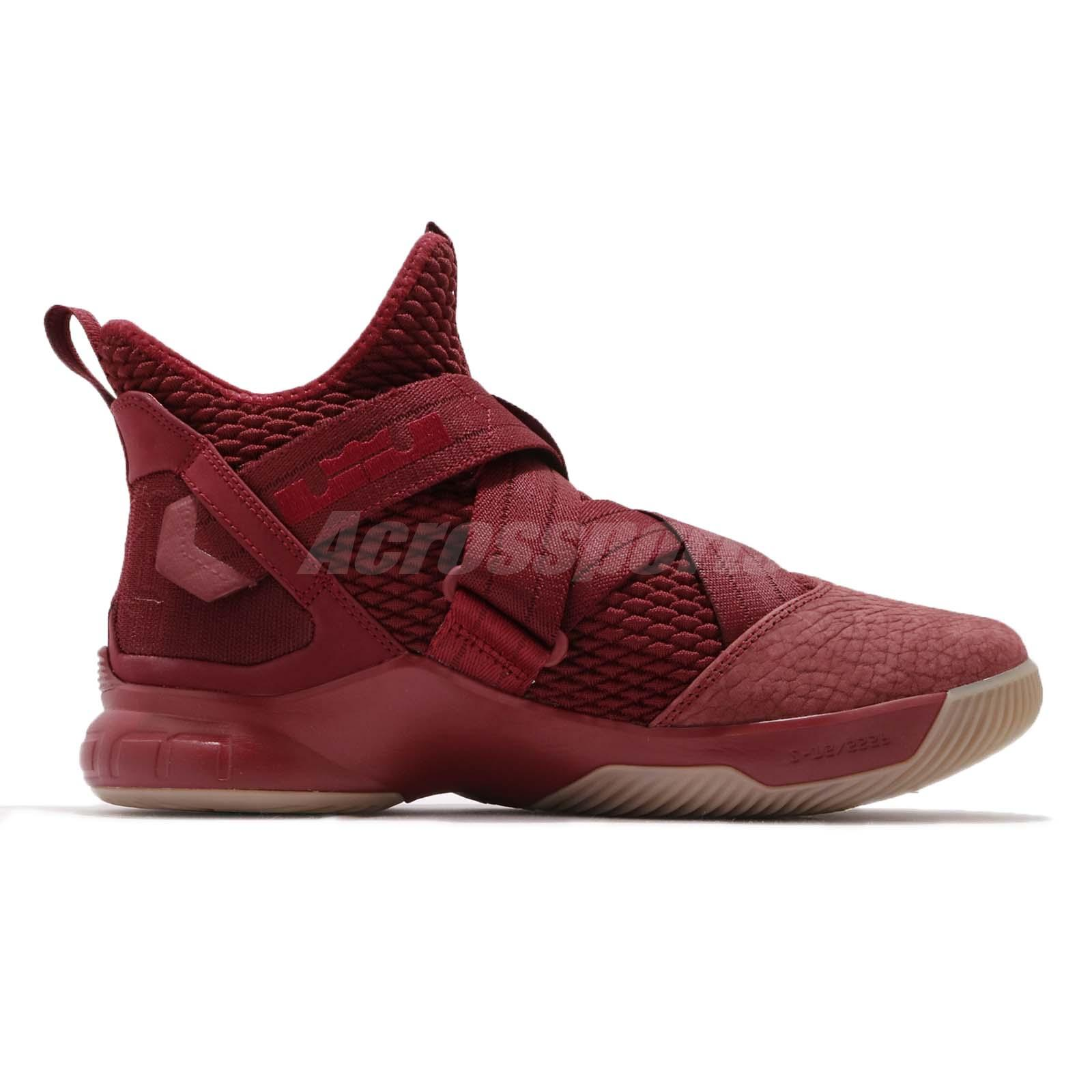 f808a6ed1f5 Nike LeBron Soldier XII 12 SFG EP James Team Red Basketball Shoes ...