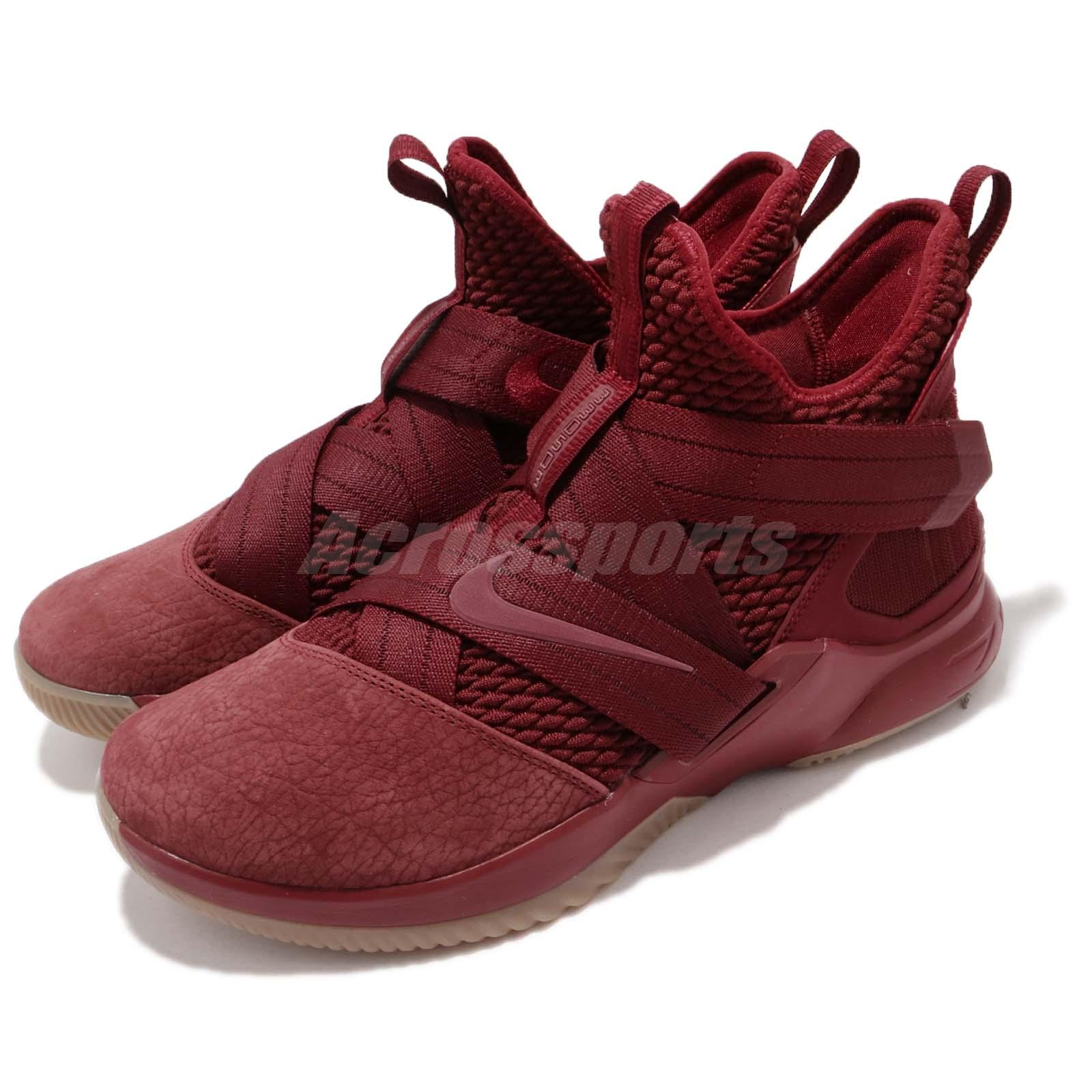 eb4fa5b55d7 Details about Nike LeBron Soldier XII 12 SFG EP James Team Red Basketball  Shoes AO4055-600