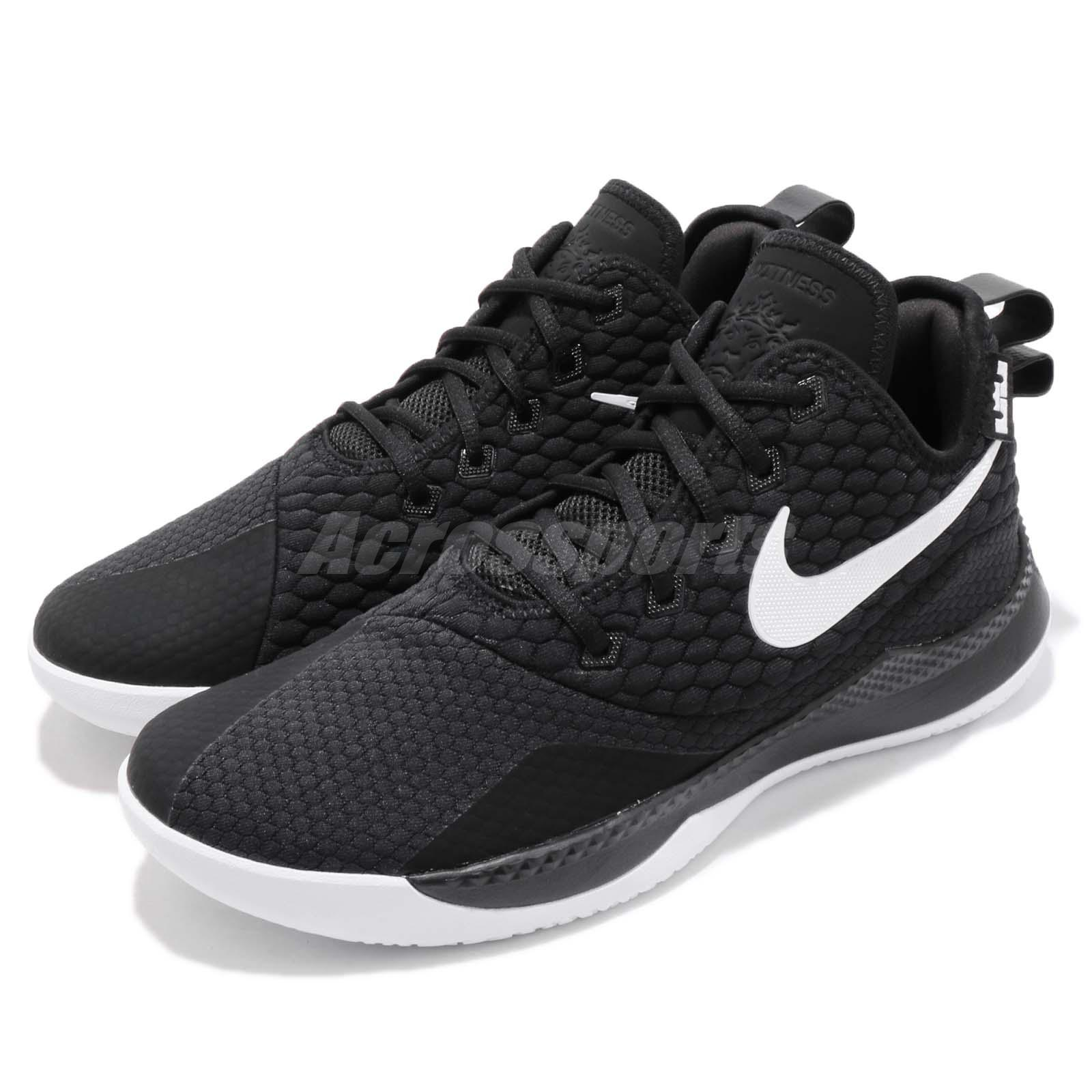 new concept 91929 f83cd Details about Nike LeBron Witness III EP 3 James LBJ Black White Men  Basketball AO4432-001