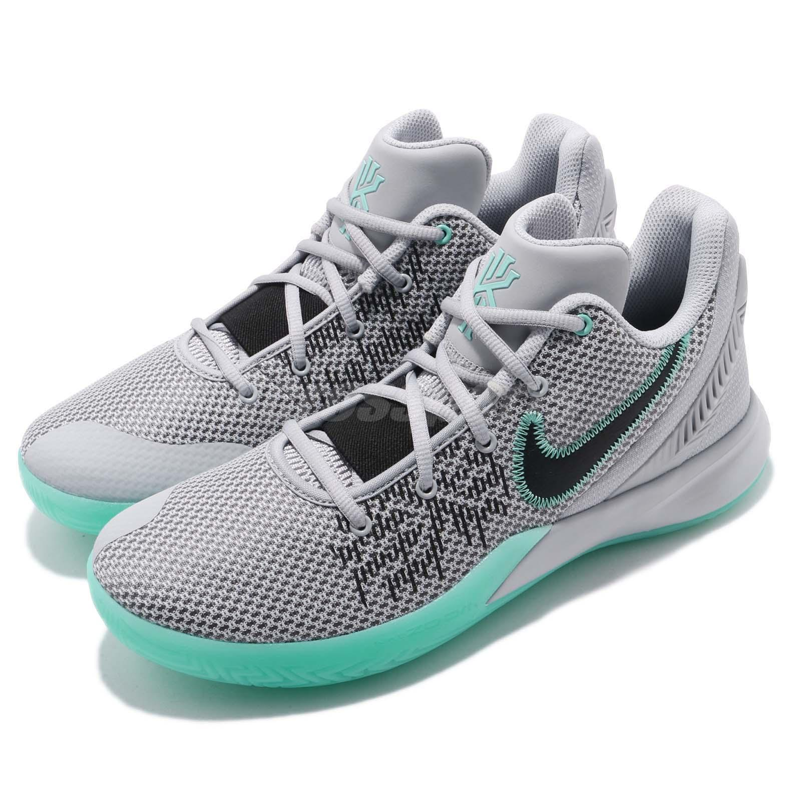 cheaper 9ff15 cb33f Details about Nike Kyrie Flytrap II EP 2 Irving Grey Black Men Basketball  Shoes AO4438-003