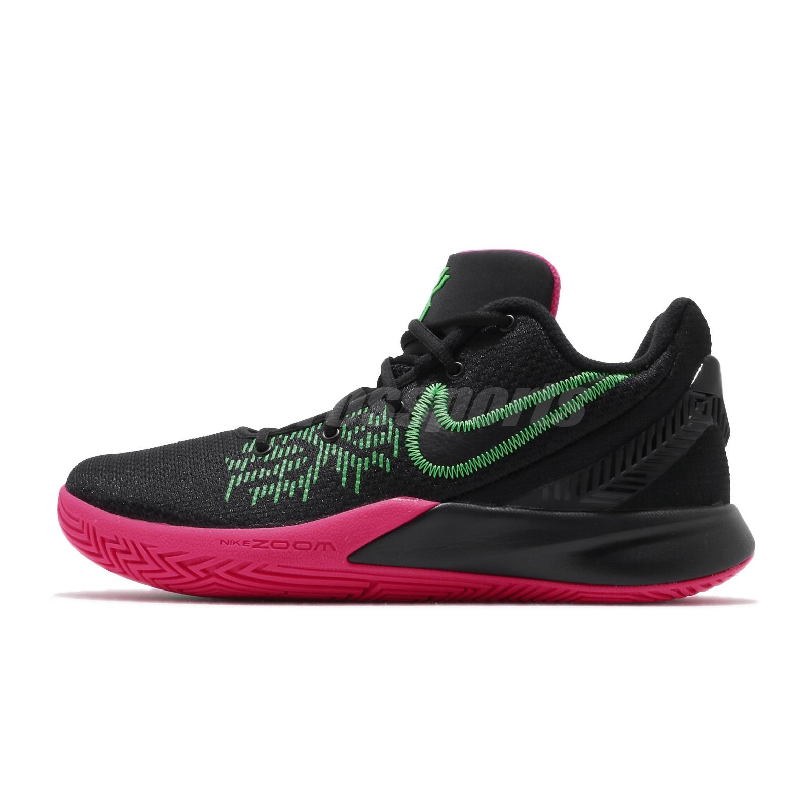 low priced 27936 0a69e Details about Nike Kyrie Flytrap II EP 2 Irving Black Pink Green Men Shoes  Sneakers AO4438-005