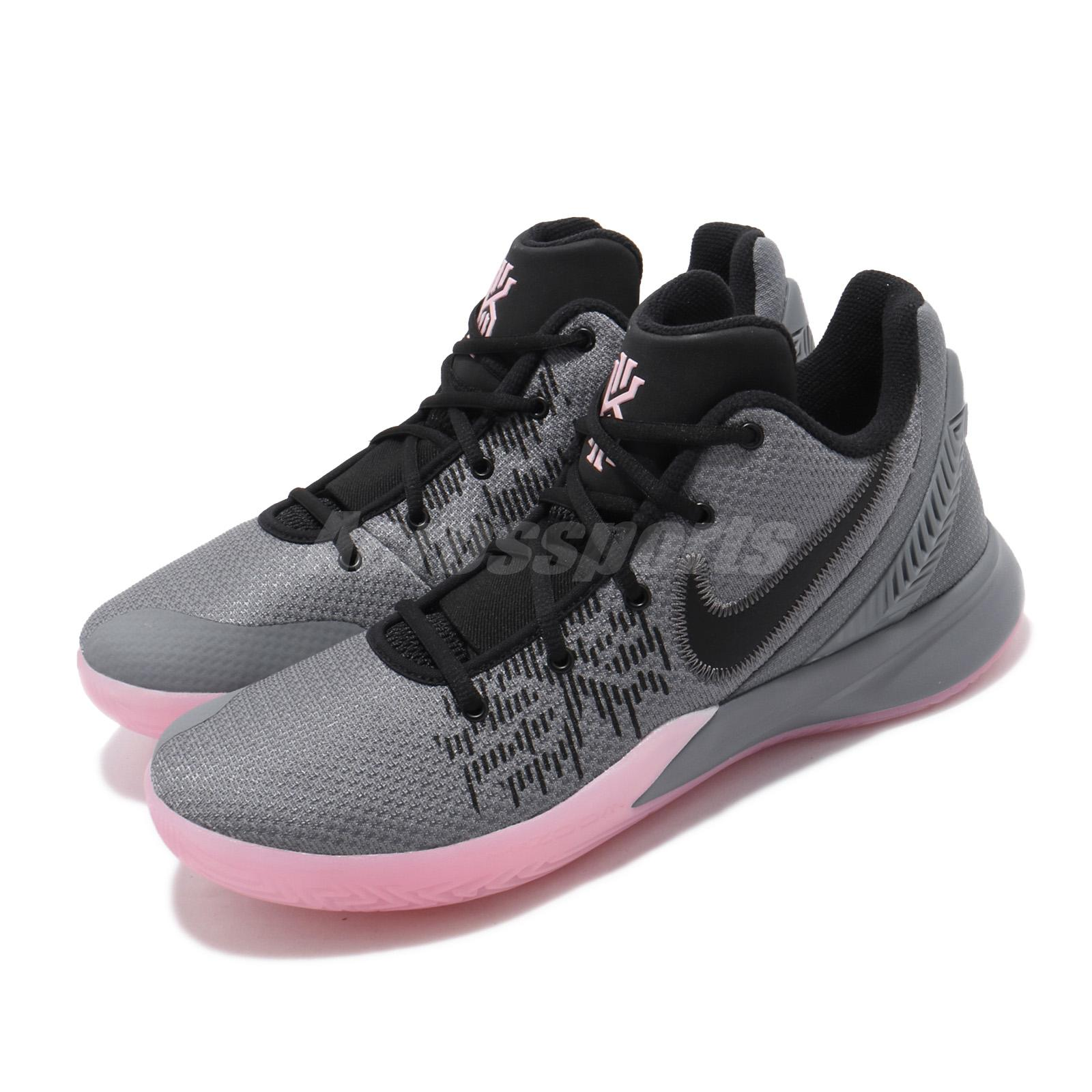 new arrival 34c1f d54db Details about Nike Kyrie Flytrap II EP Irving Grey Black Pink Mens  Basketball Shoes AO4438-006