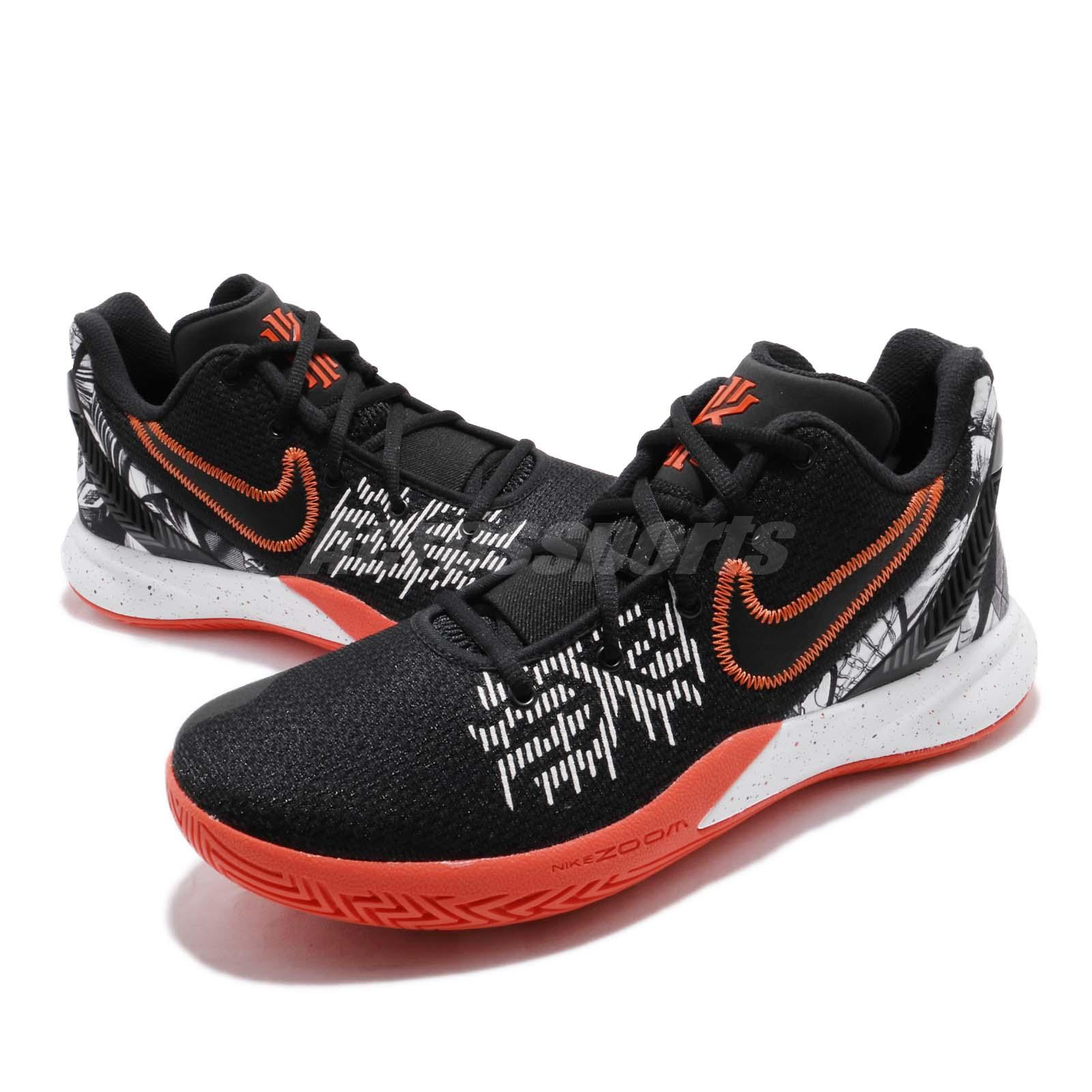 save off f0be5 acb3c Details about Nike Kyrie Flytrap II EP Black Red Logo Irving Mens  Basketball Shoes AO4438-007
