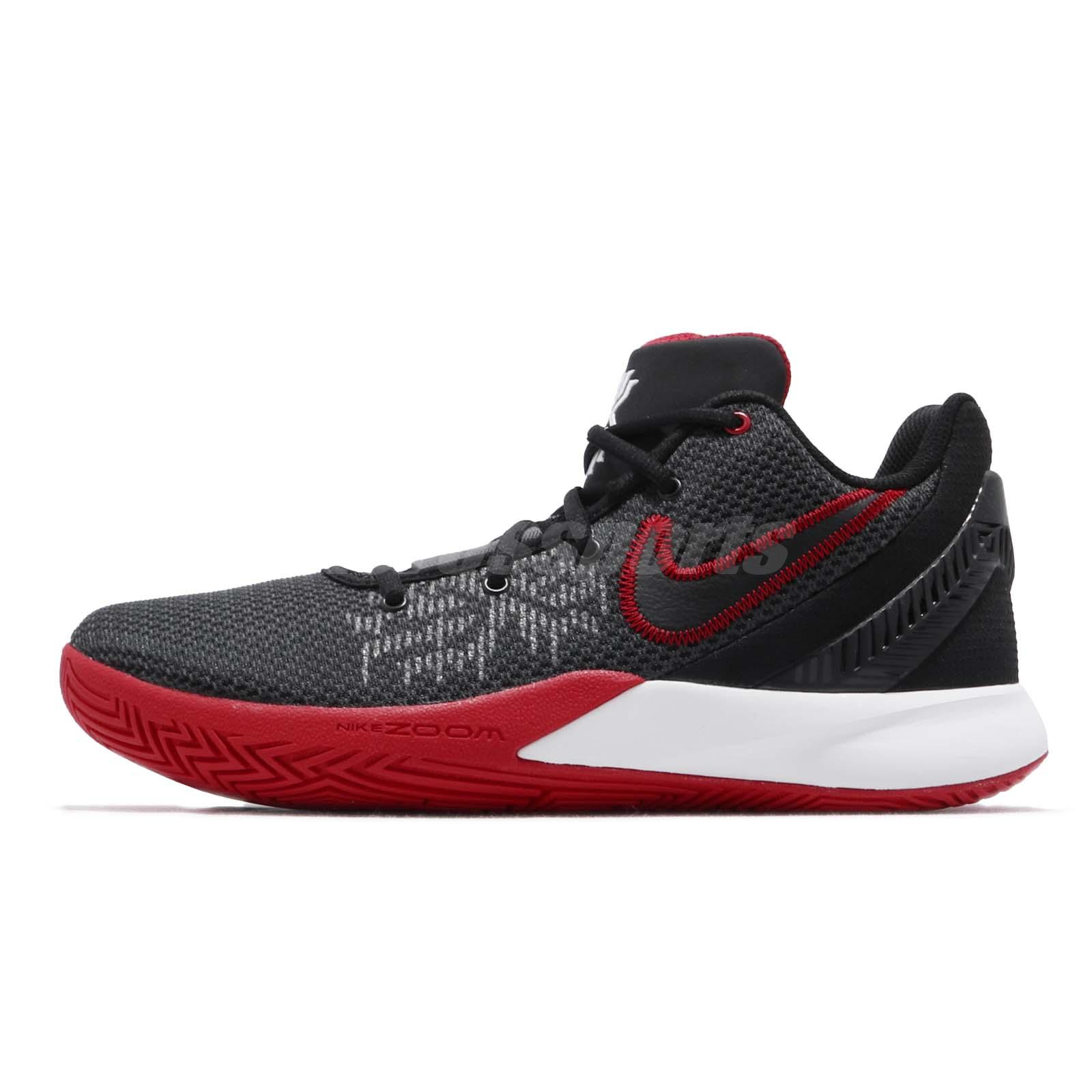 Nike Kyrie Flytrap II EP Irving 2 Black Red Bred Mens Basketball Shoe  AO4438-016 9f5900eac